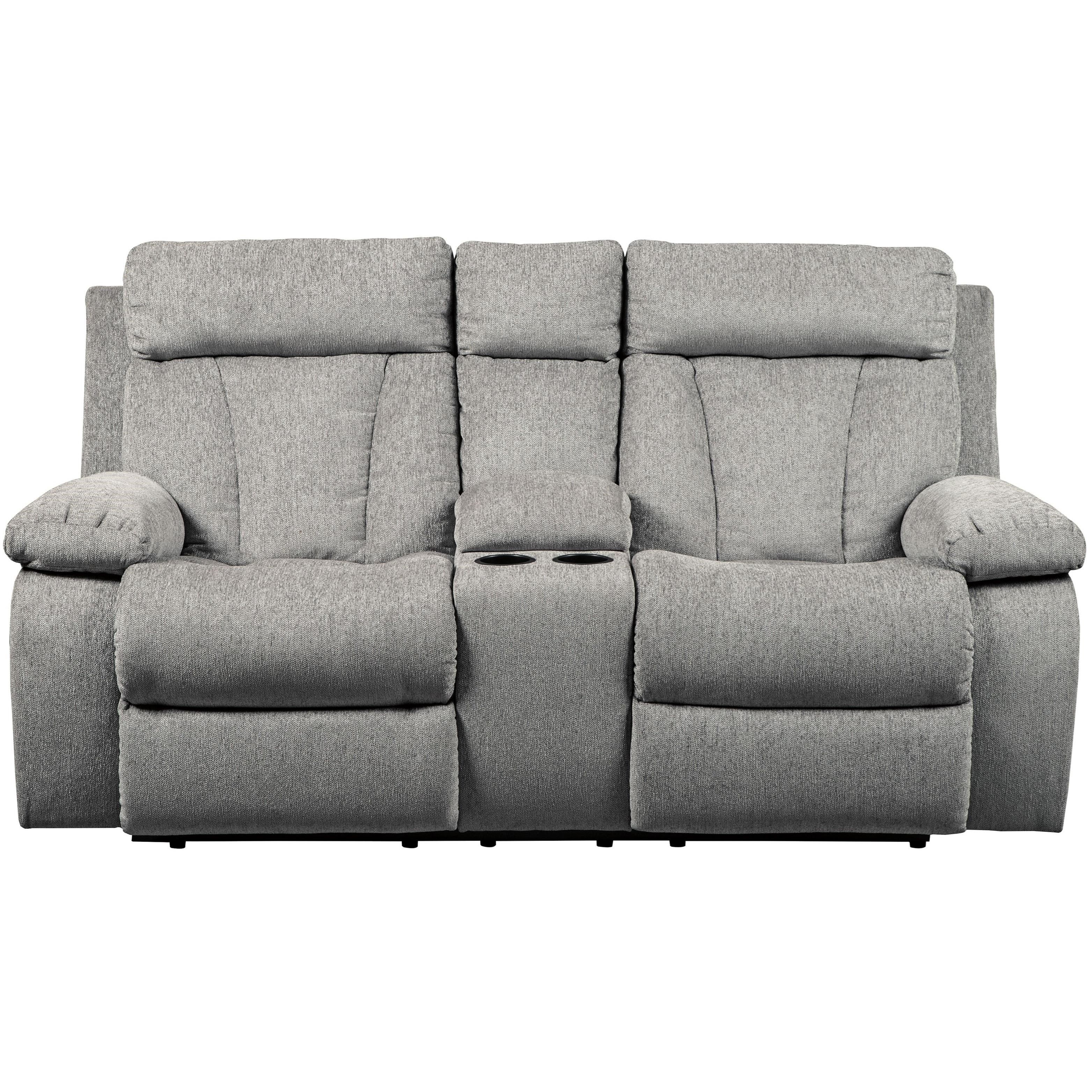 Mitchiner Reclining Loveseat by Signature Design by Ashley at HomeWorld Furniture