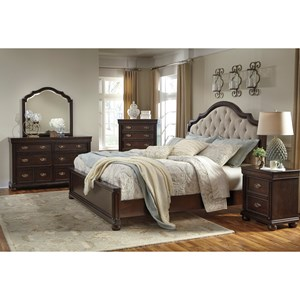 Signature Design by Ashley Moluxy Queen Bedroom Group