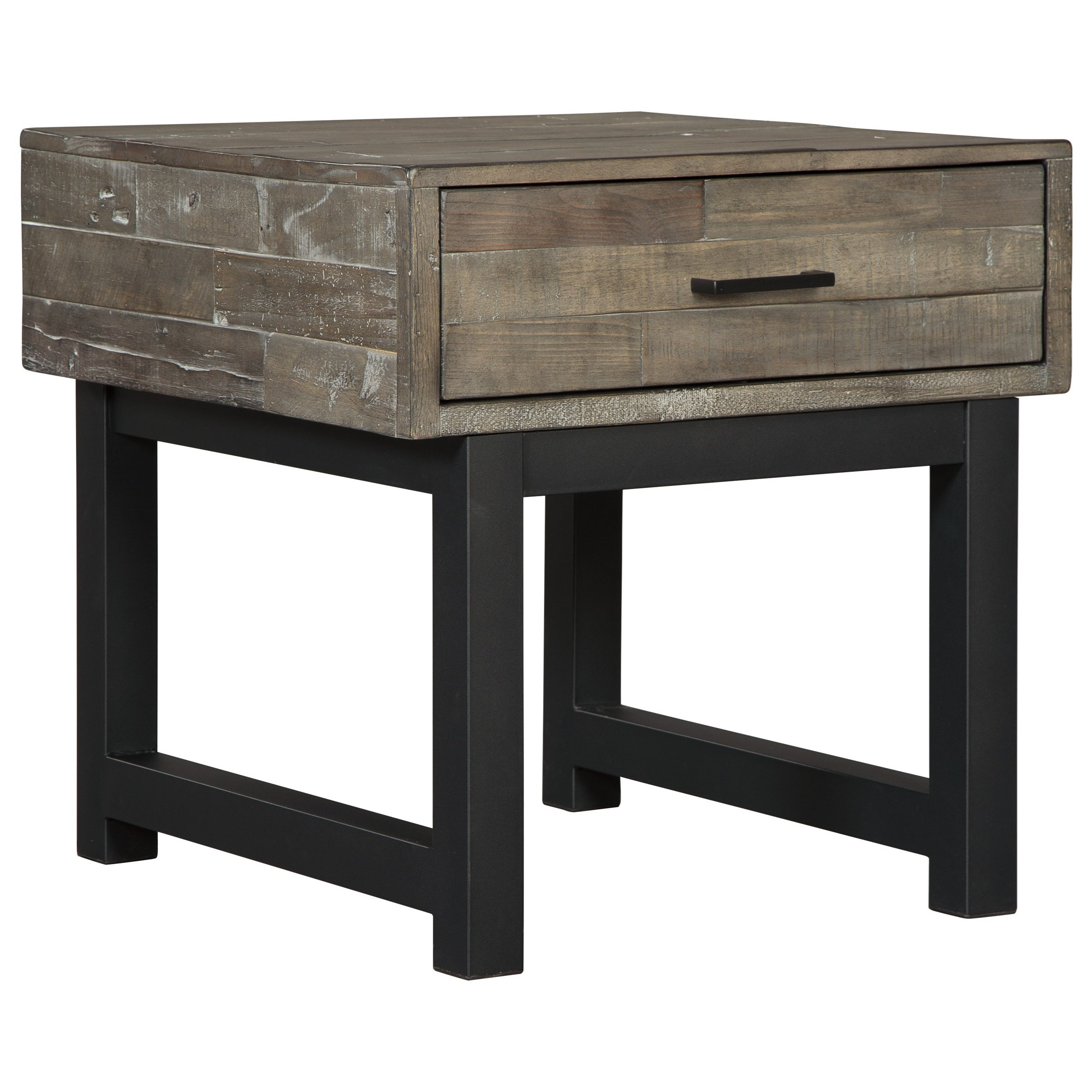 Mondoro Square End Table by Ashley (Signature Design) at Johnny Janosik