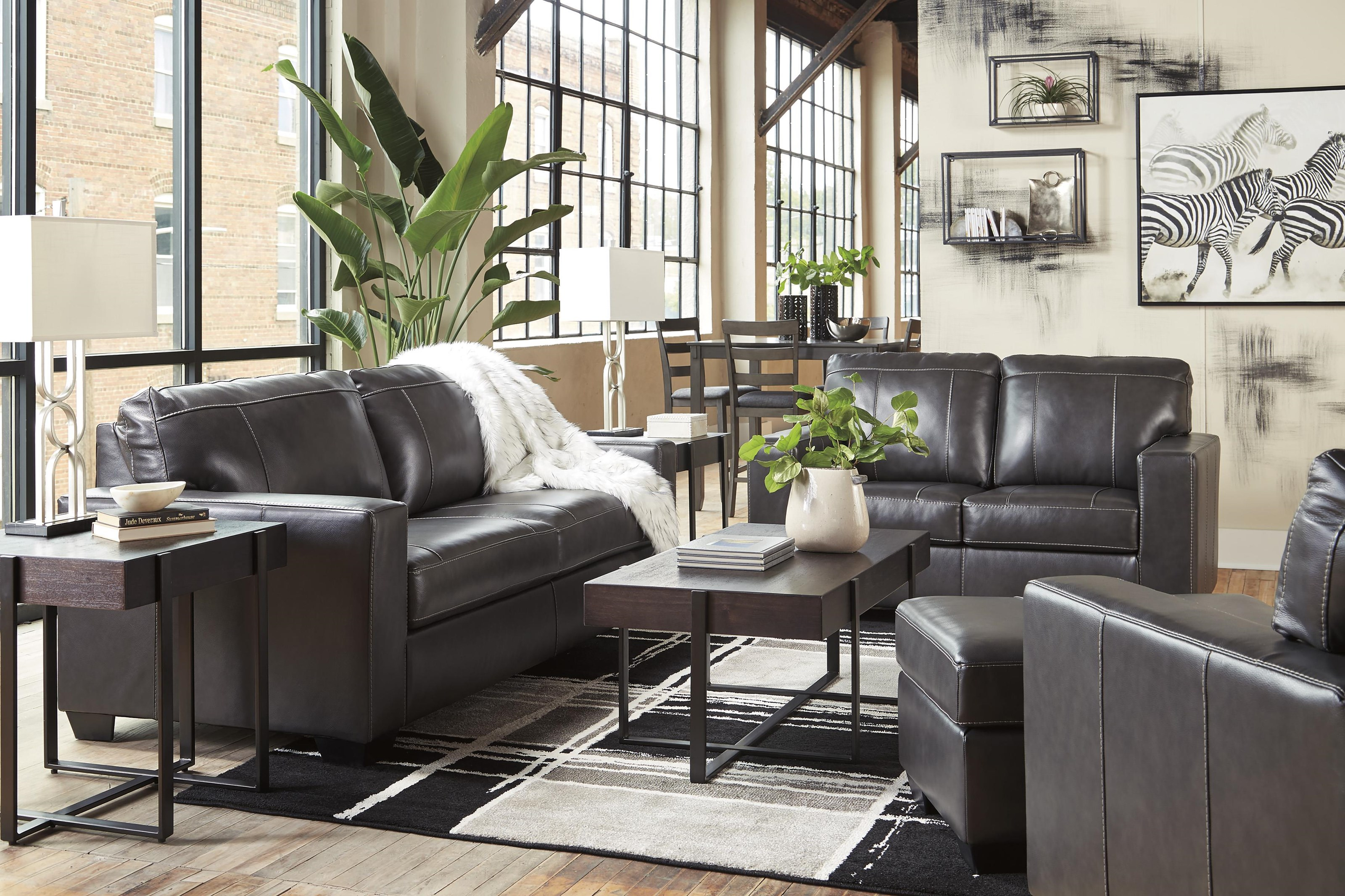 Morelos Sofa, Chair and Ottoman Set by Signature Design by Ashley at Sam Levitz Furniture