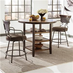 Signature Design by Ashley Moriann 3-Piece Counter Table Set