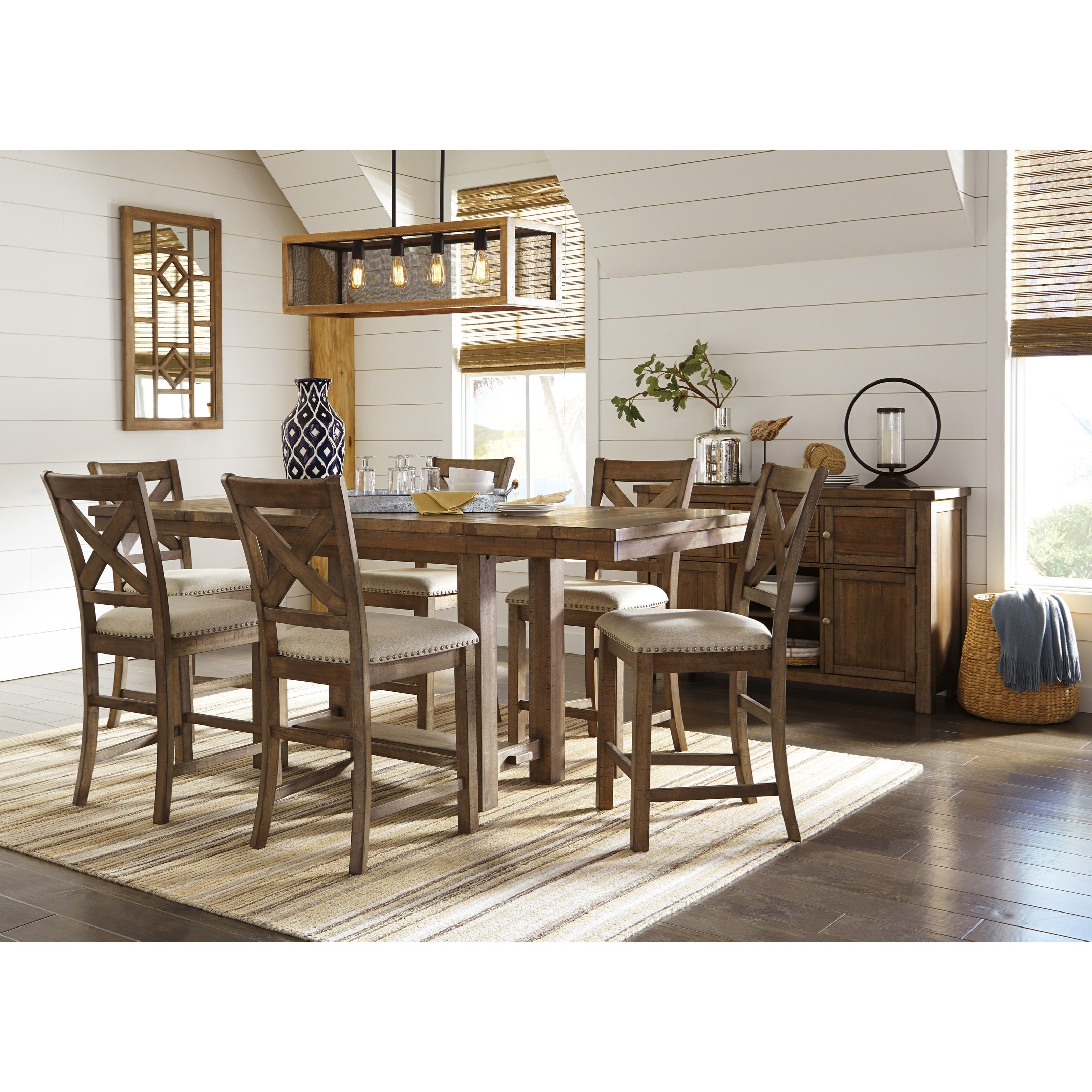 Moriville Dining Room Group by Signature Design by Ashley at Northeast Factory Direct