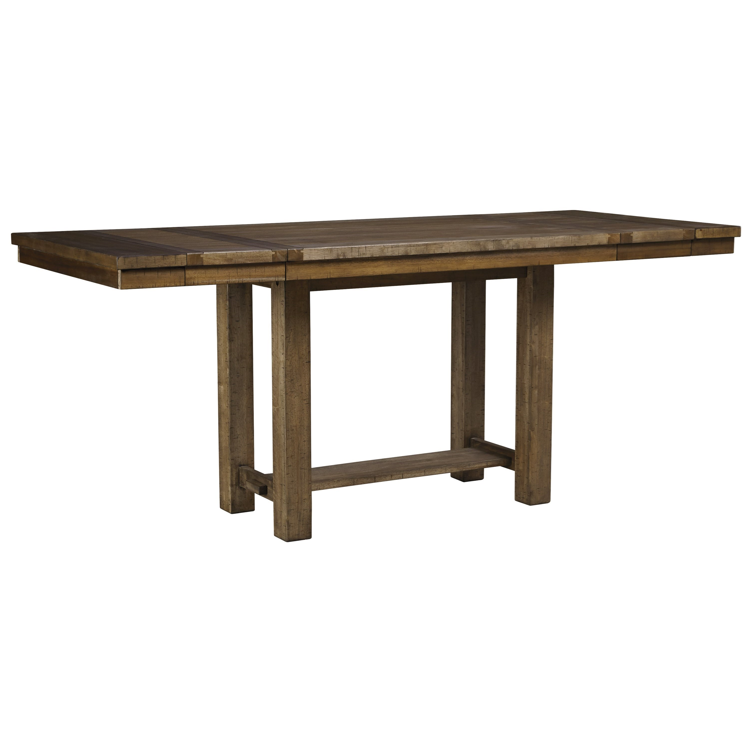 Moriville Rect. Dining Room Counter Extension Table by Signature Design by Ashley at Beck's Furniture
