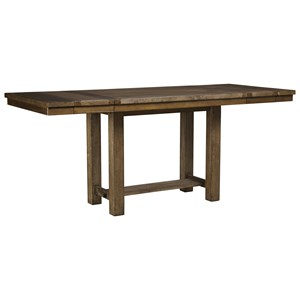 Rectangular Dining Room Counter Extension Table