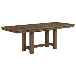 Rectangular Dining Room Extension Table