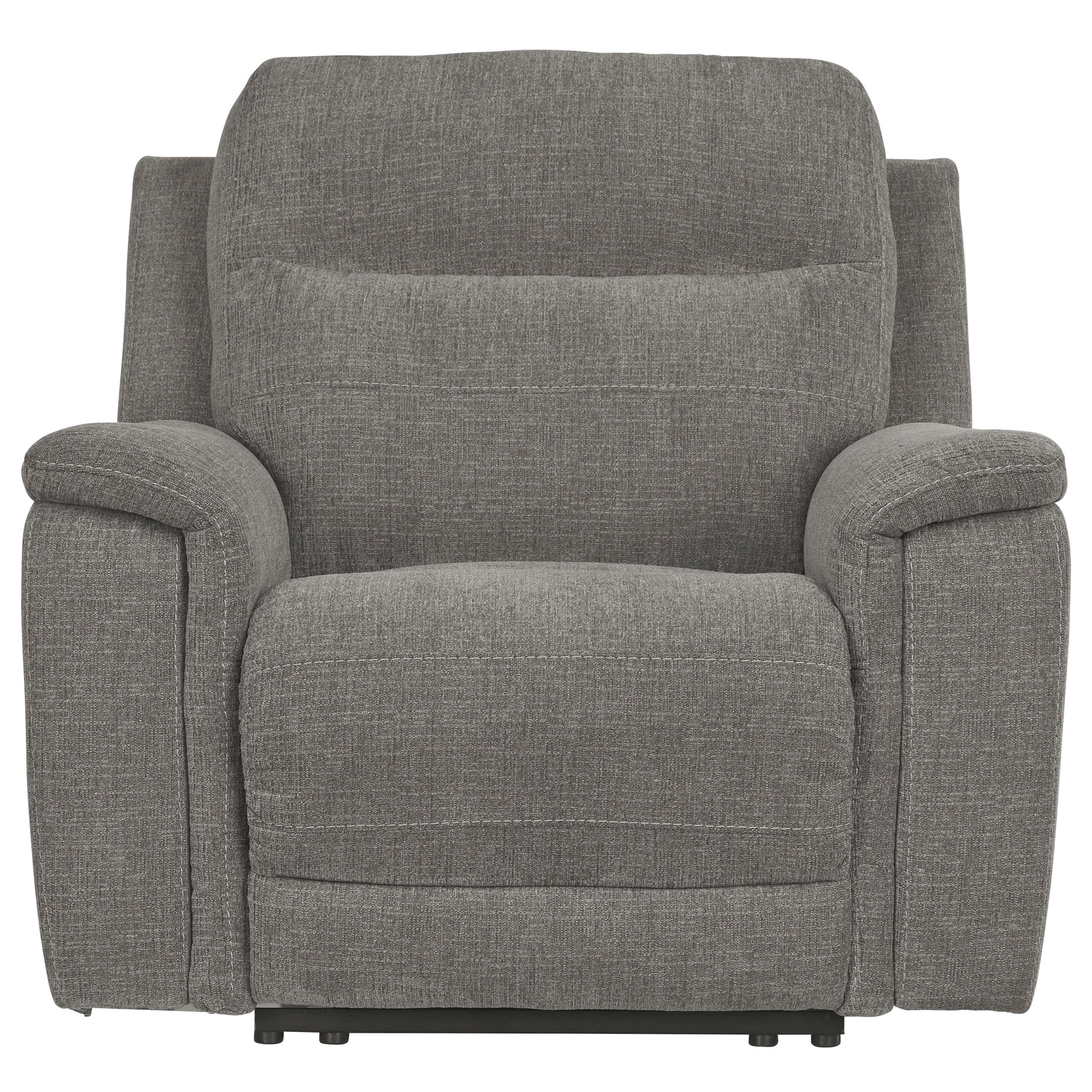 Mouttrie Power Recliner w/ Adjustable Headrest by Ashley (Signature Design) at Johnny Janosik