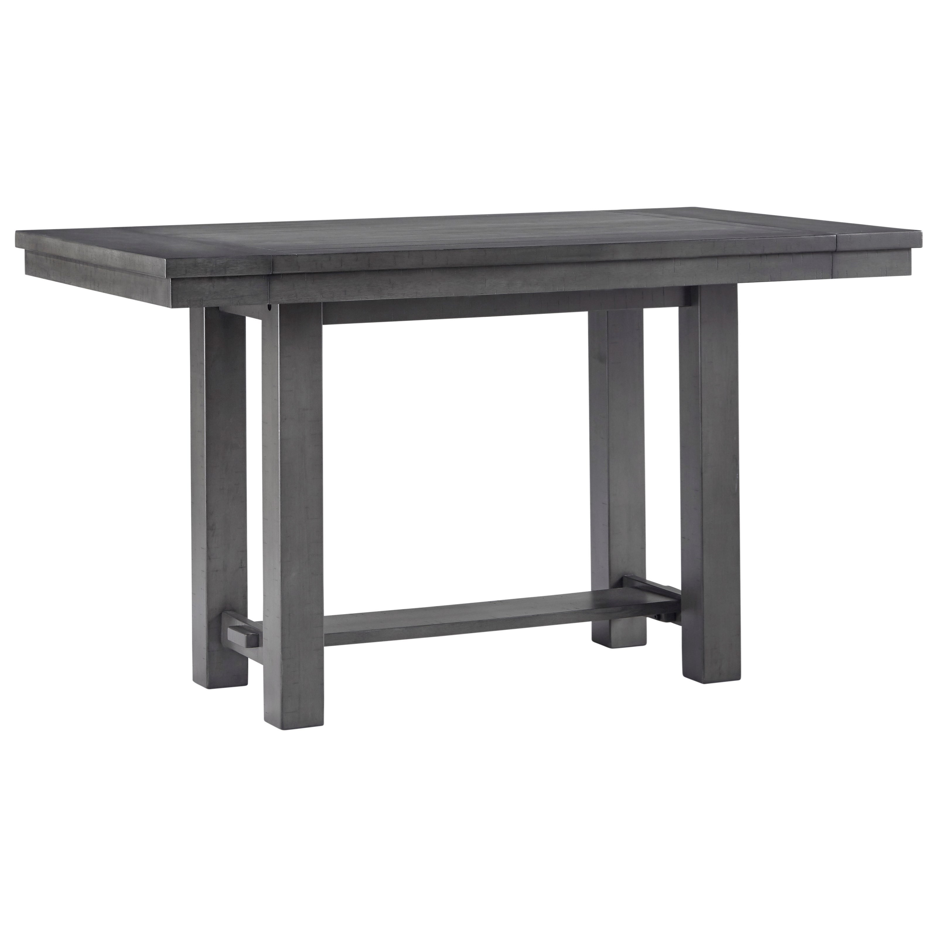 Myshanna Counter Height Dining Extension Table by Signature Design by Ashley at Furniture Barn