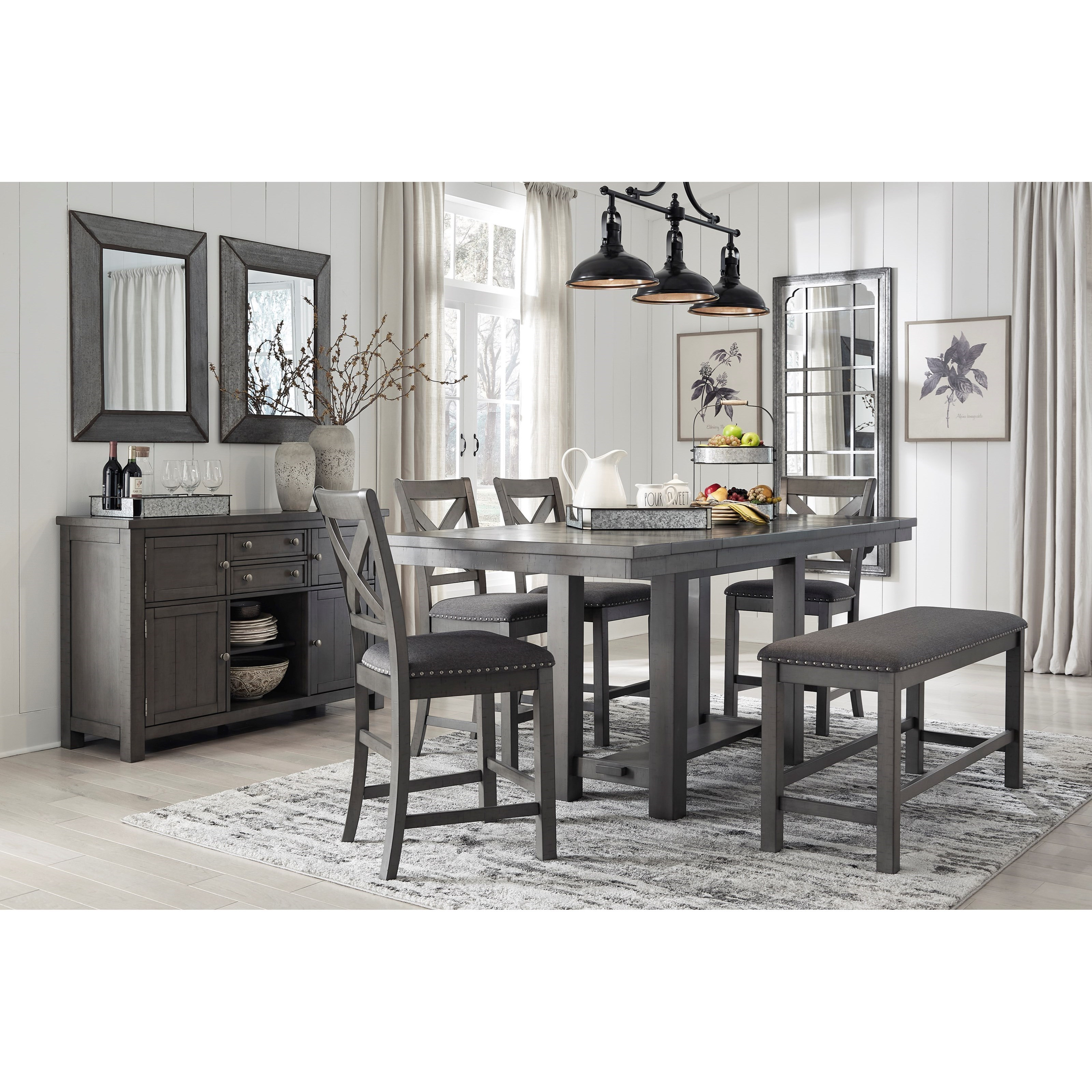 Myshanna Dining Room Group by Signature Design by Ashley at Furniture Barn