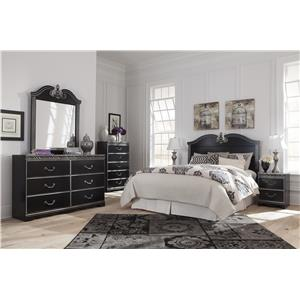 Signature Design by Ashley Navoni Queen/Full Bedroom Group