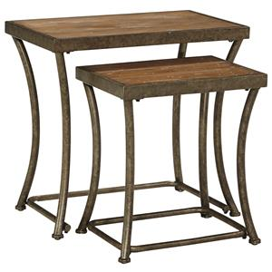 Signature Design by Ashley Nartina Nesting End Tables
