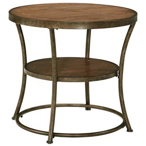 Signature Design by Ashley Nartina Round End Table