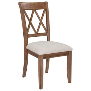 Signature Design by Ashley Narvilla Dining Upholstered Side Chair