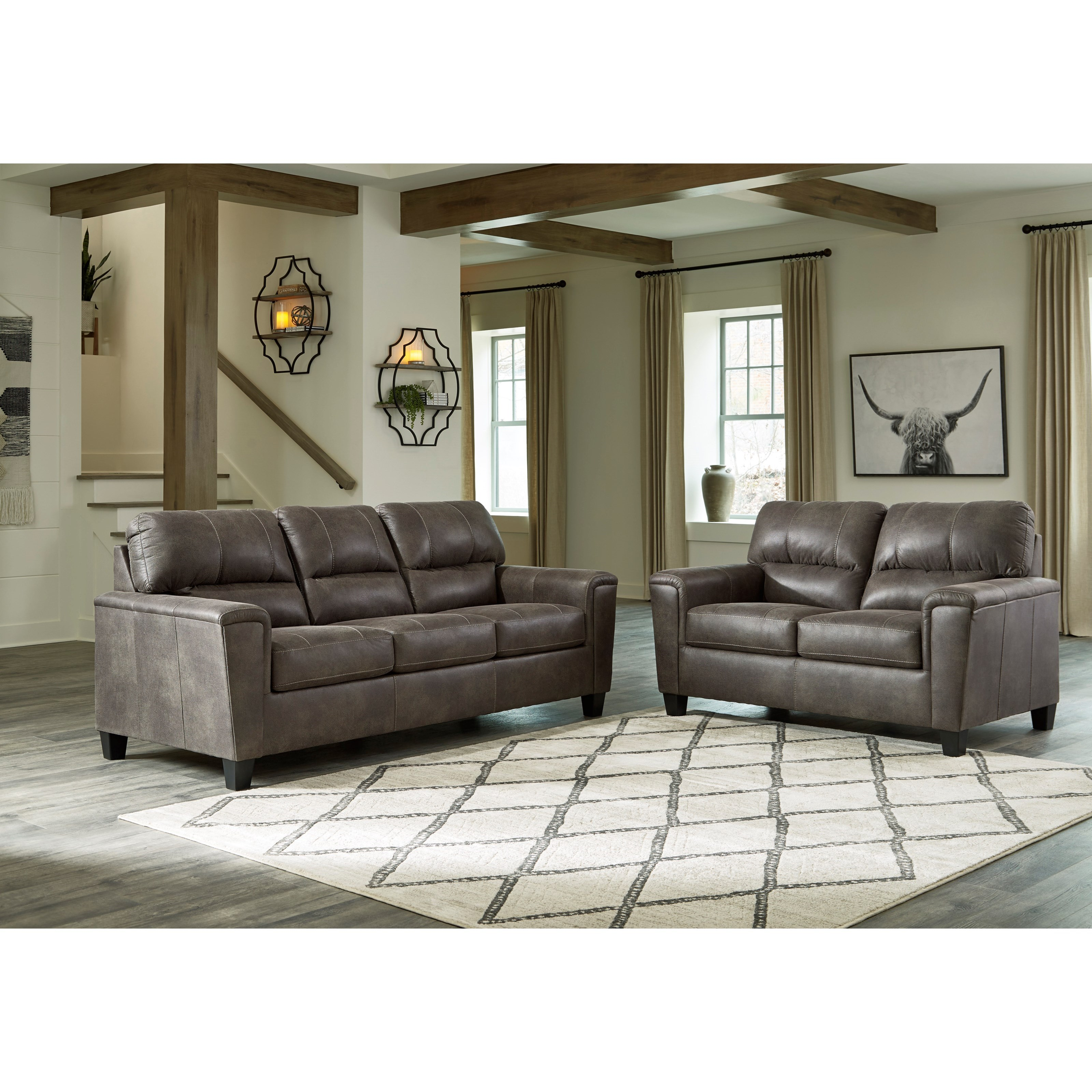 Navi Living Room Group by Signature Design by Ashley at Sparks HomeStore