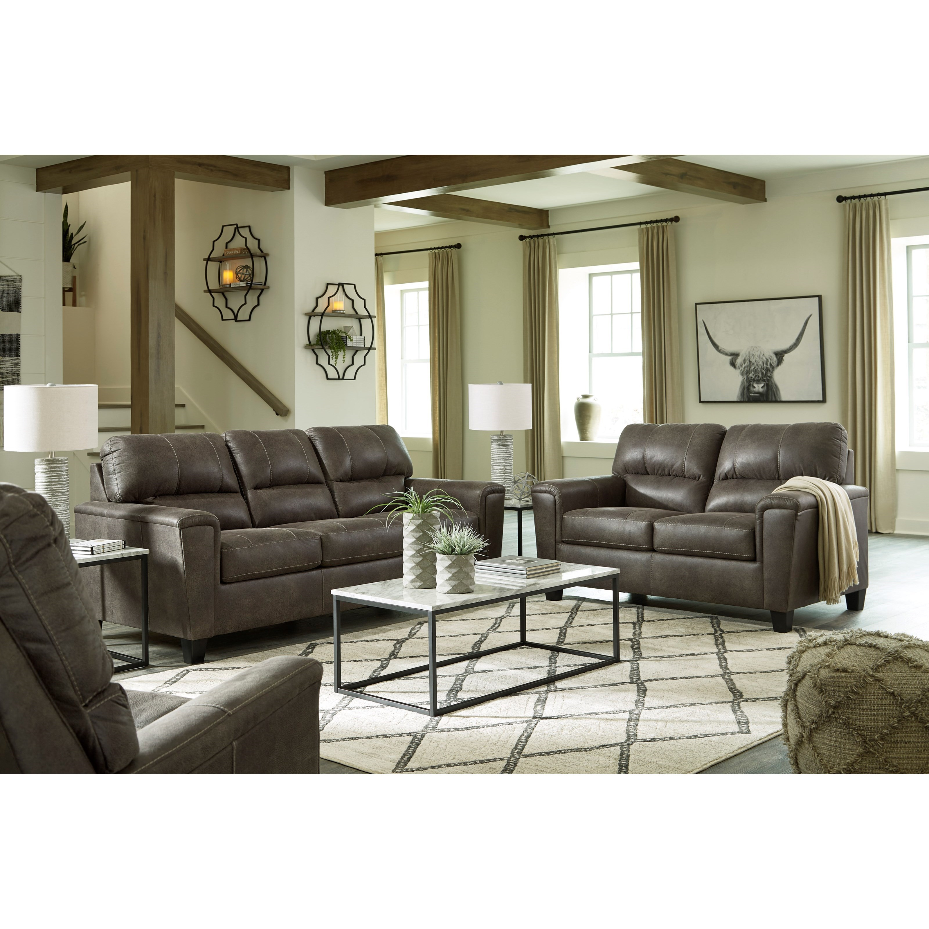 Navi Living Room Group by Signature Design by Ashley at Smart Buy Furniture