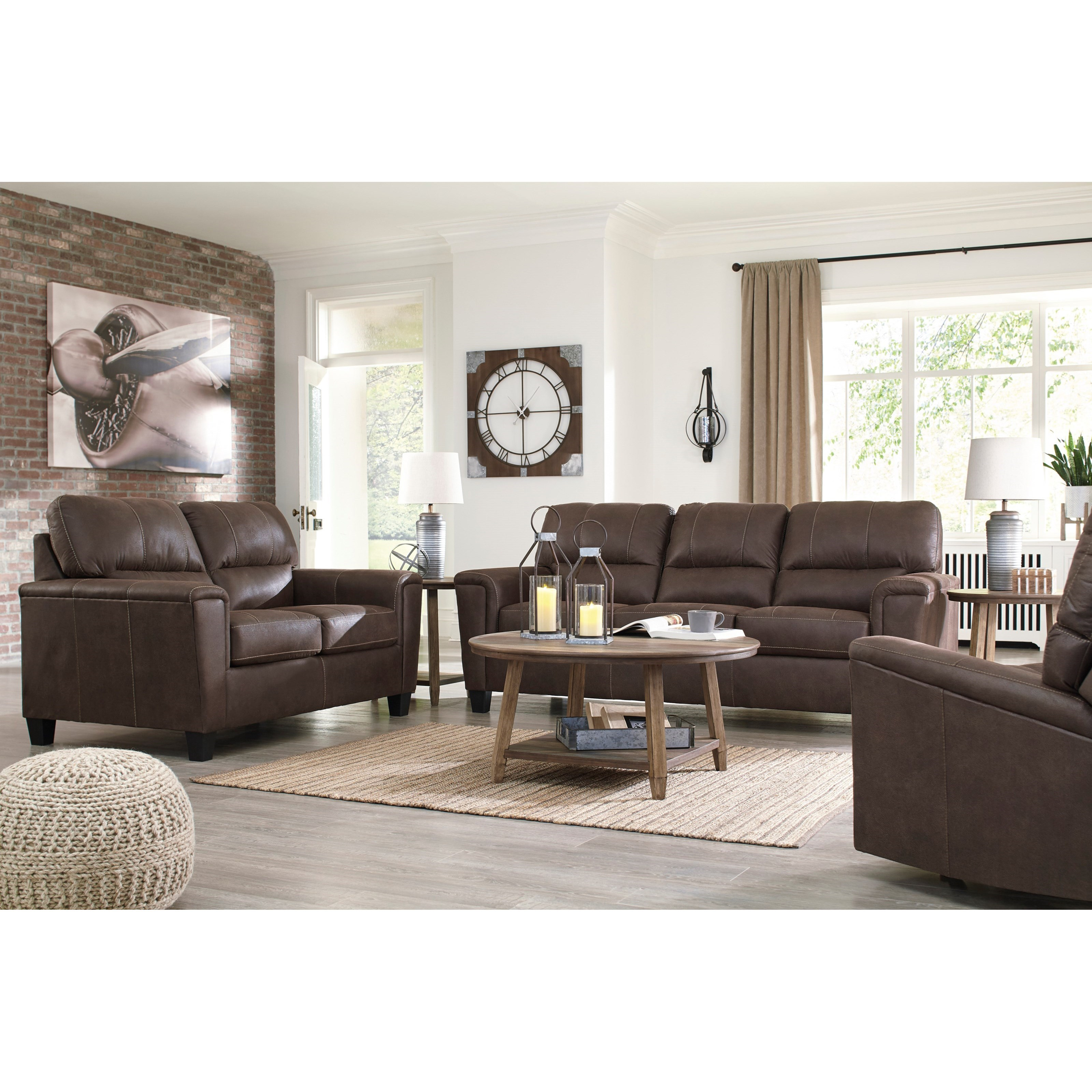 Navi Living Room Group by Signature Design by Ashley at Northeast Factory Direct