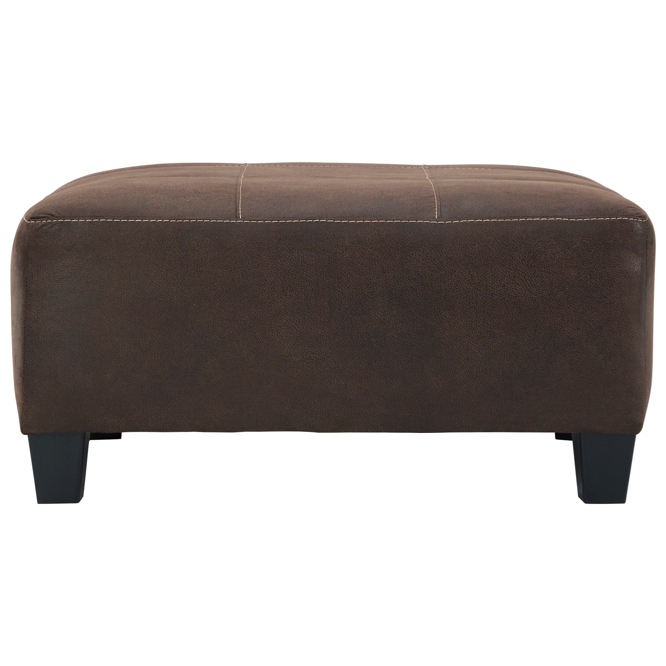 Navi Oversized Accent Ottoman by Signature Design by Ashley at Furniture Superstore - Rochester, MN