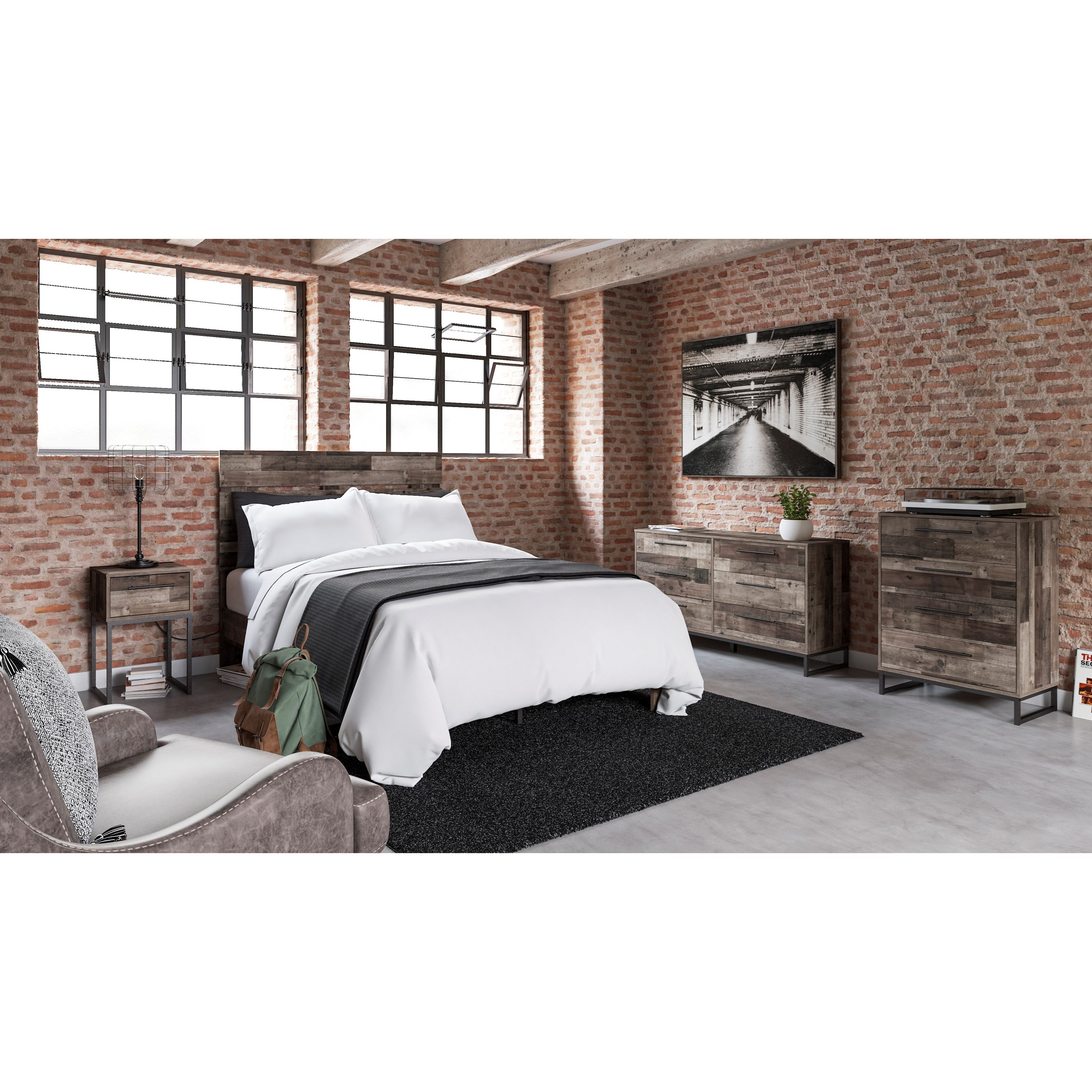 Neilsville Full Bedroom Group by Signature Design by Ashley at Zak's Warehouse Clearance Center