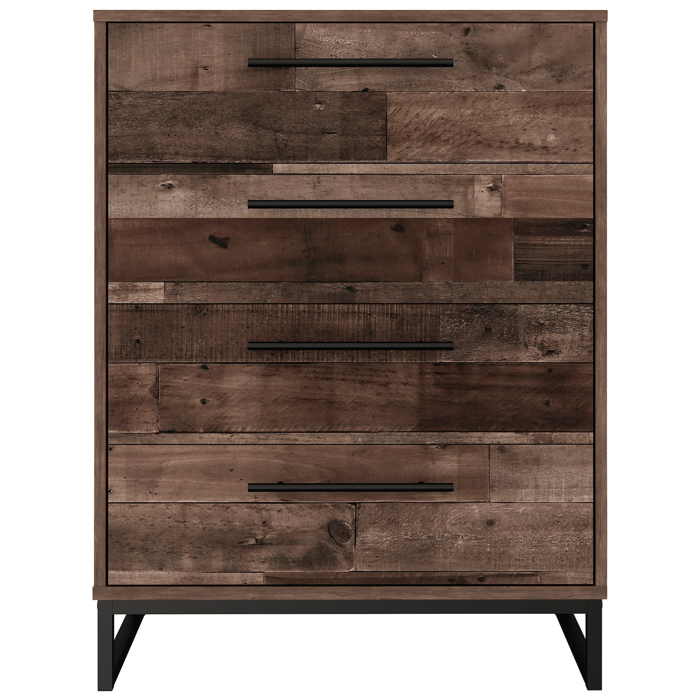 Neilsville 4-Drawer Chest by Signature Design by Ashley at Household Furniture