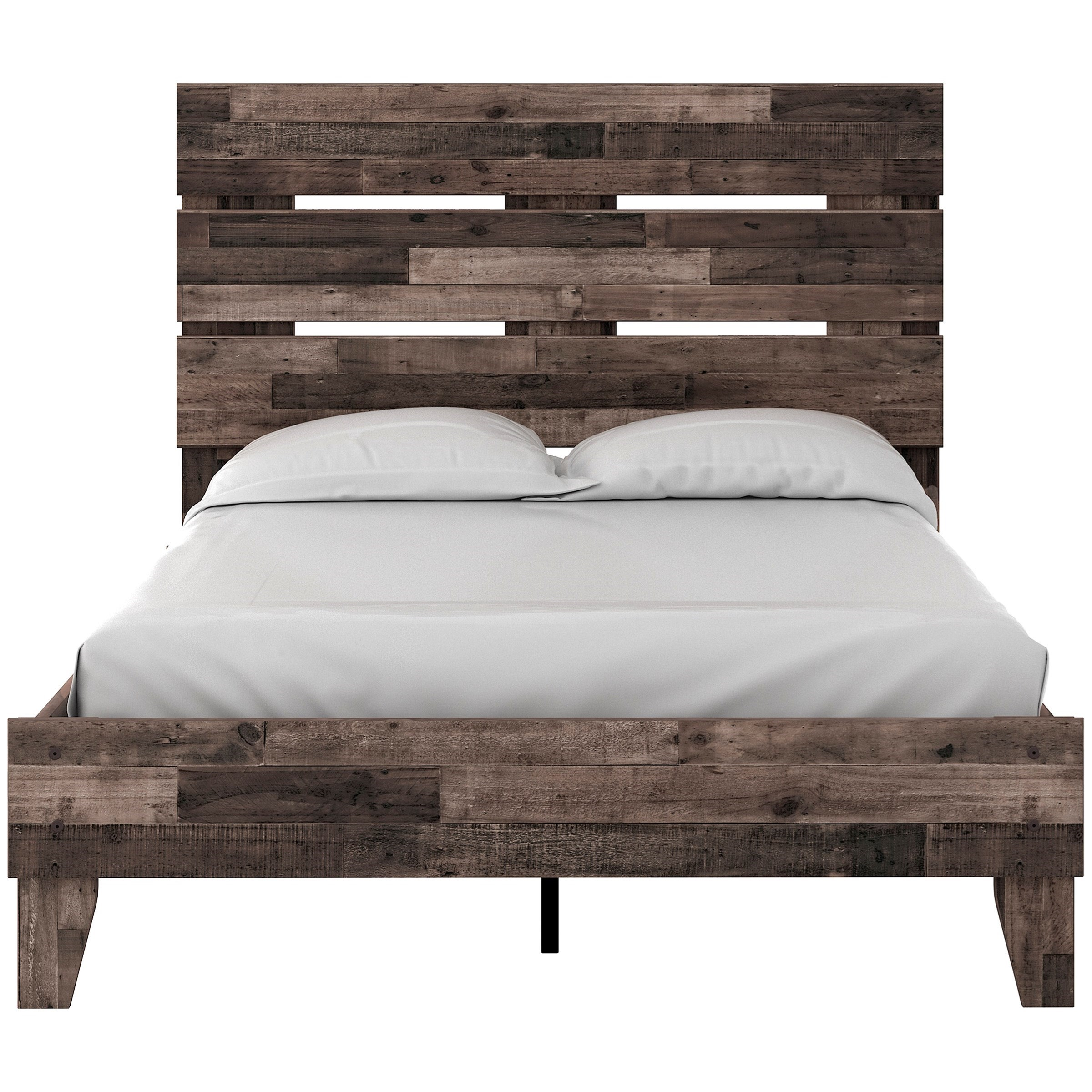 Neilsville Full Platform Bed with Headboard by Signature Design by Ashley at Northeast Factory Direct