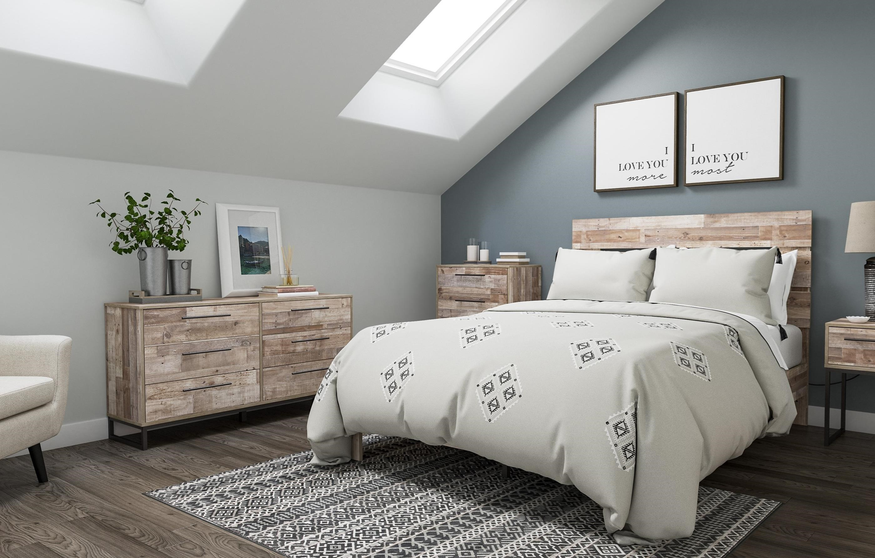 Neilsville Full Bedroom Group by Ashley (Signature Design) at Johnny Janosik