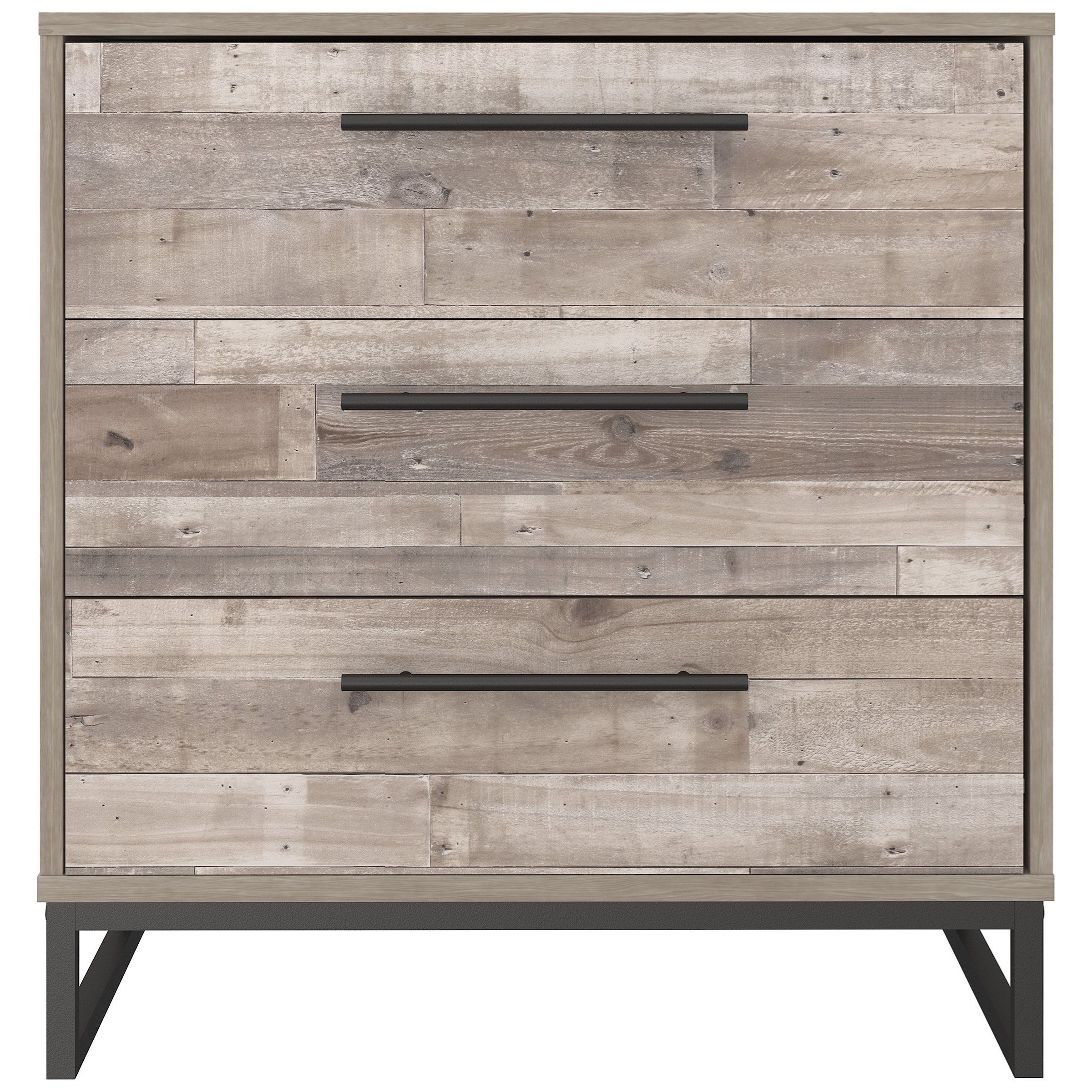 Neilsville 3-Drawer Chest by Signature Design by Ashley at Household Furniture
