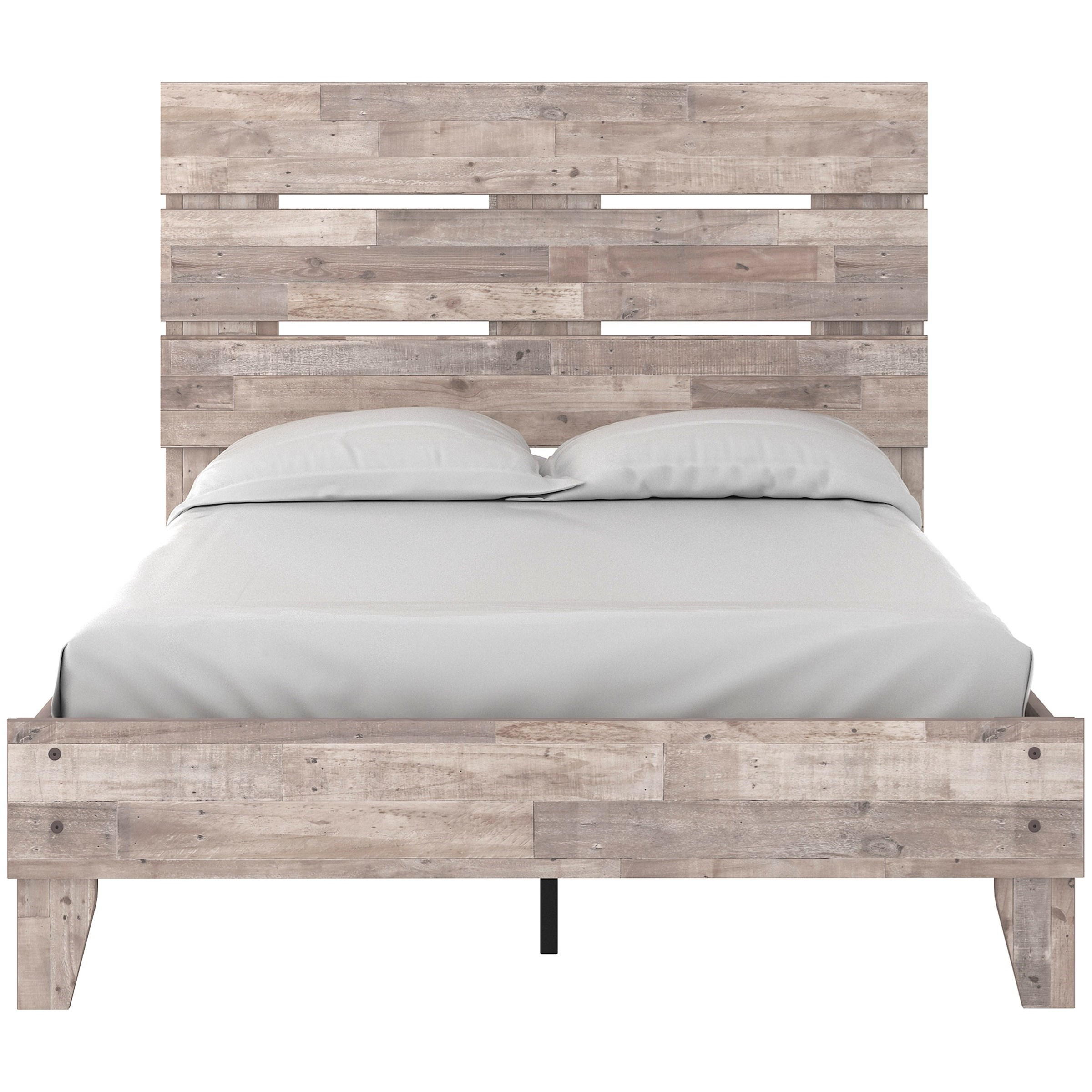 Neilsville Full Platform Bed with Headboard by Signature Design by Ashley at Household Furniture