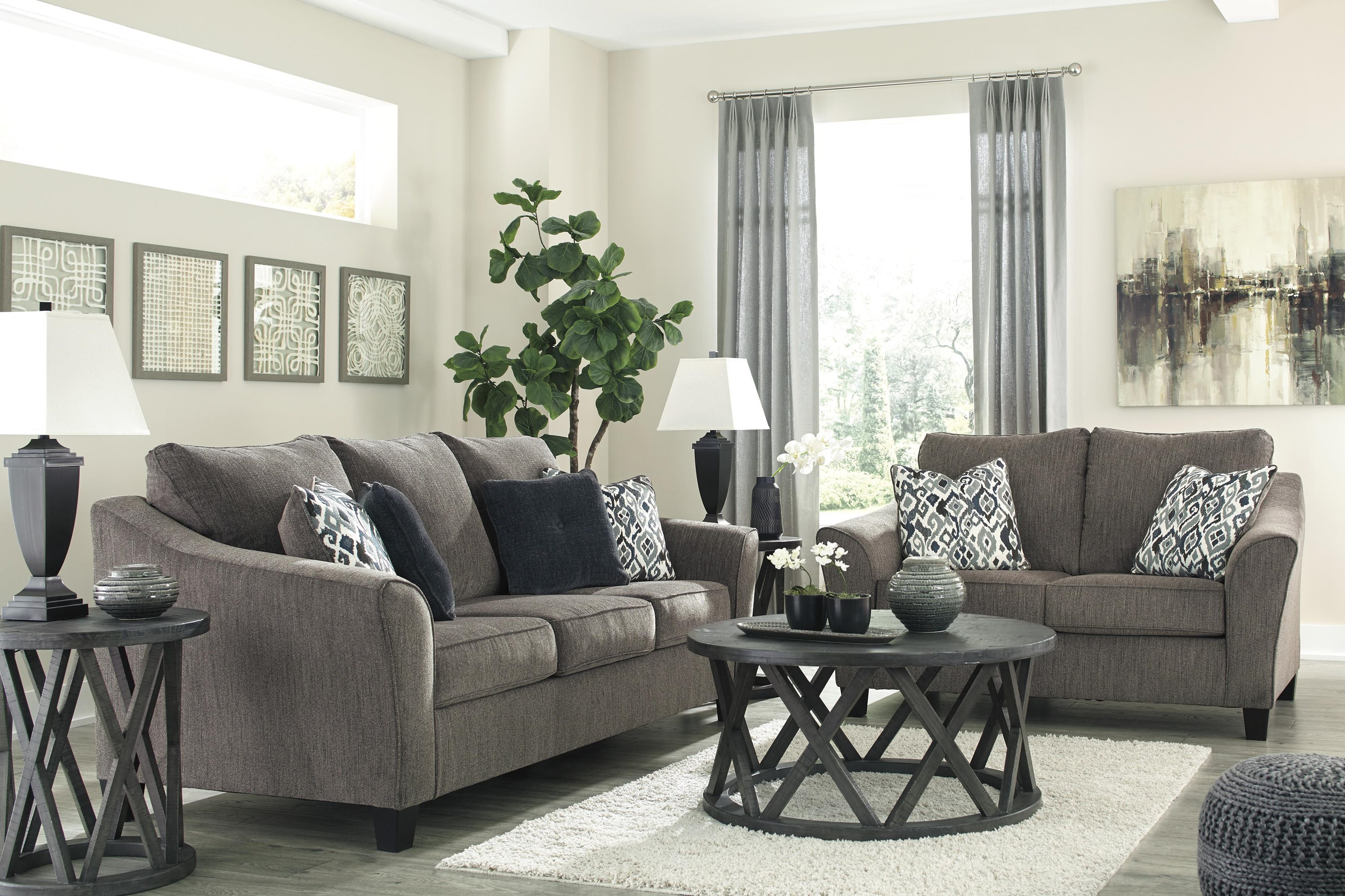 Nemoli Sofa and Loveseat Set by Signature Design by Ashley at Sam Levitz Outlet