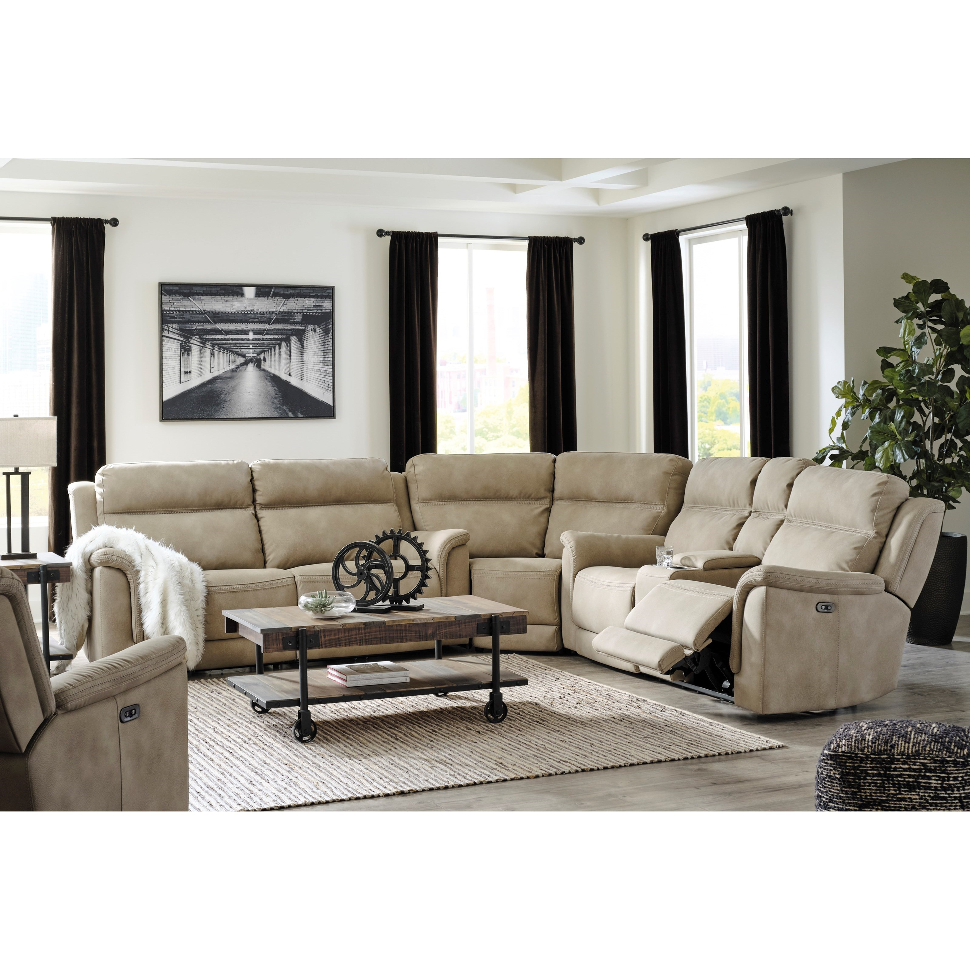 Next-Gen DuraPella Power Reclining Living Room Group by Signature Design by Ashley at Zak's Home Outlet
