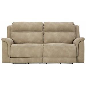 2-Seat Pwr Rec Sofa  w/ Adj Headrests