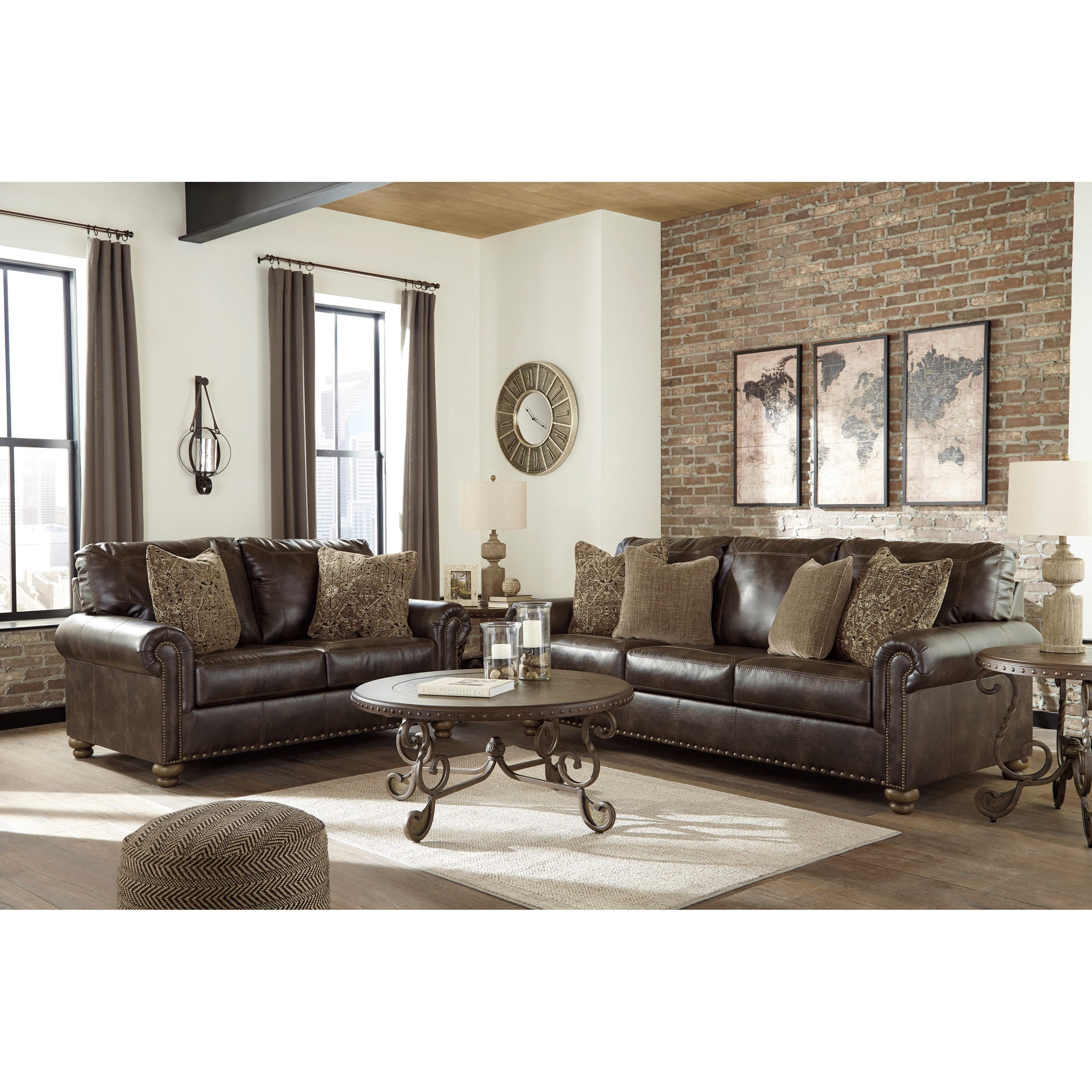 Nicorvo Stationary Living Room Group by Ashley (Signature Design) at Johnny Janosik