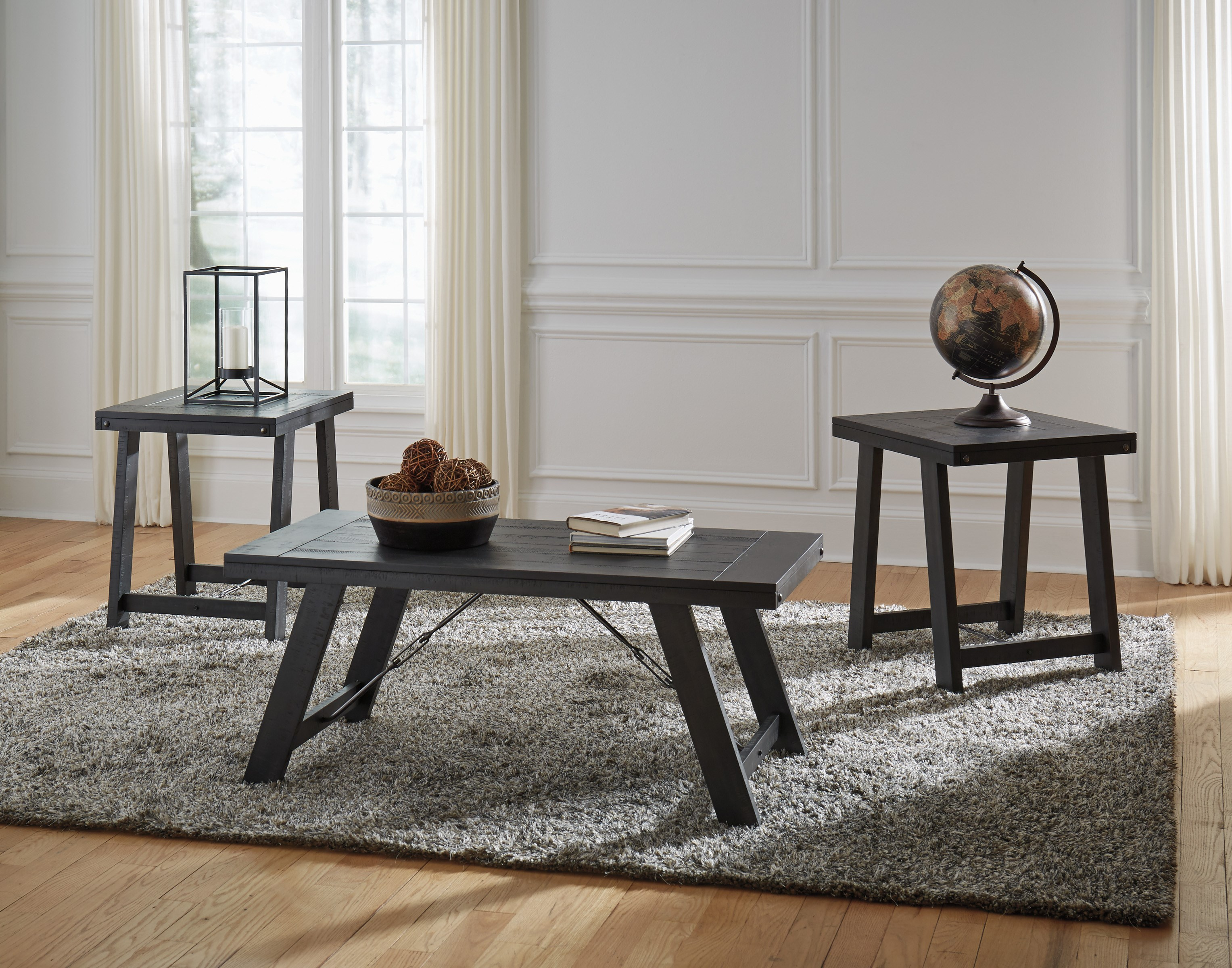Noorbrook Occasional Table Group by Signature Design by Ashley at Beck's Furniture