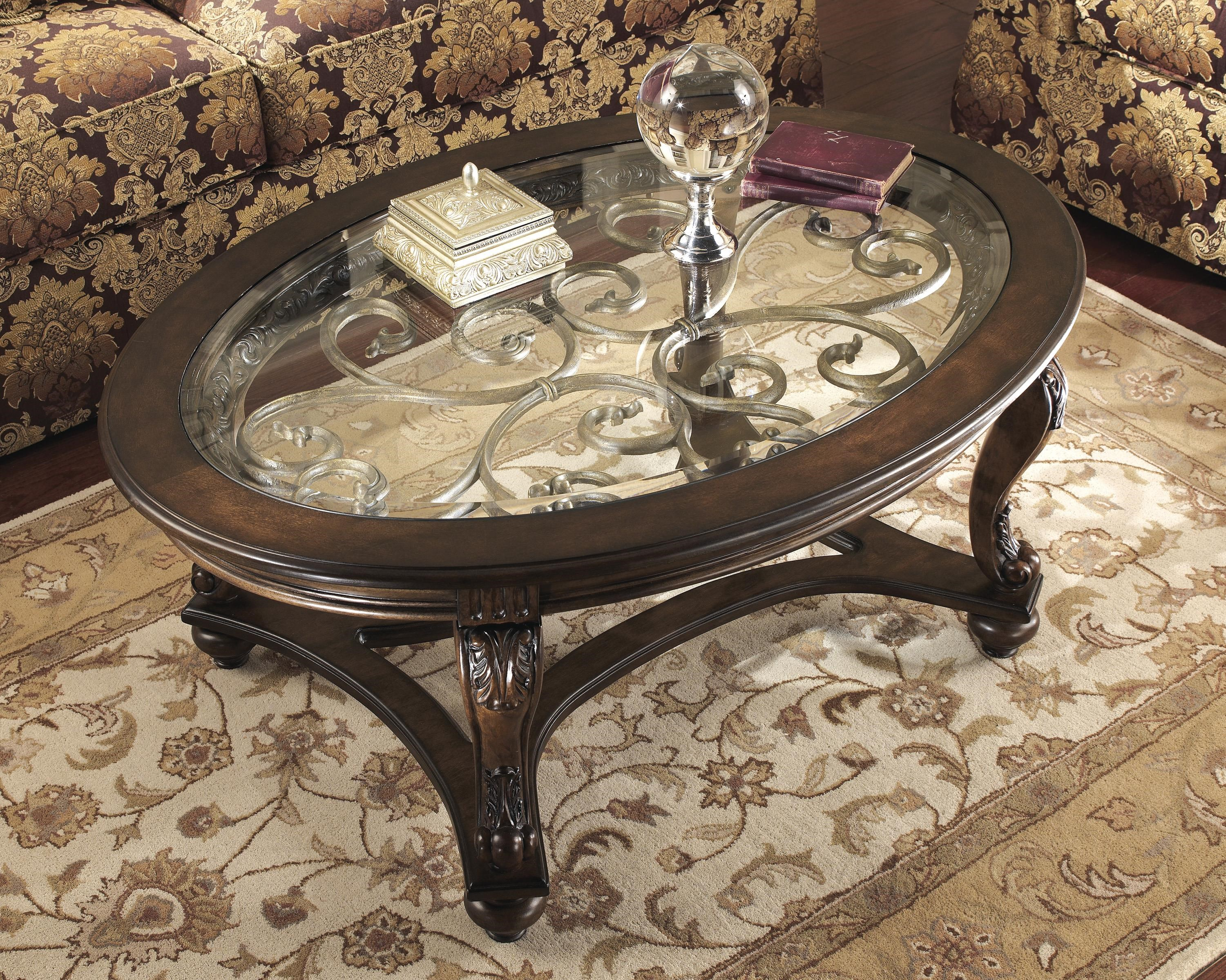 Norcastle 2 Piece Coffee Table Set by Signature Design by Ashley at Sam Levitz Furniture