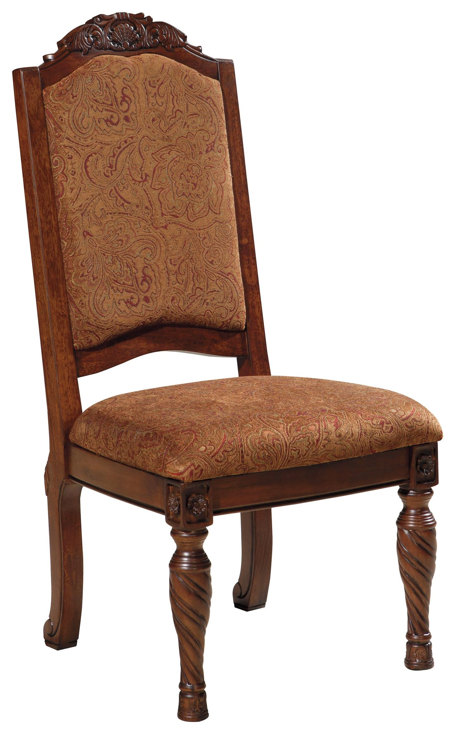 North Shore North Shore Upholstered Side Chair by Ashley at Morris Home
