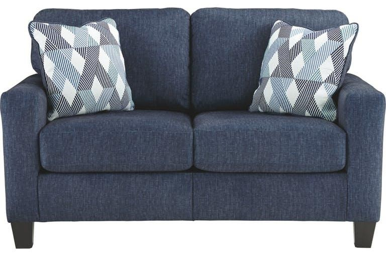 Odelle Odelle Loveseat with Accent Pillows by Ashley at Morris Home