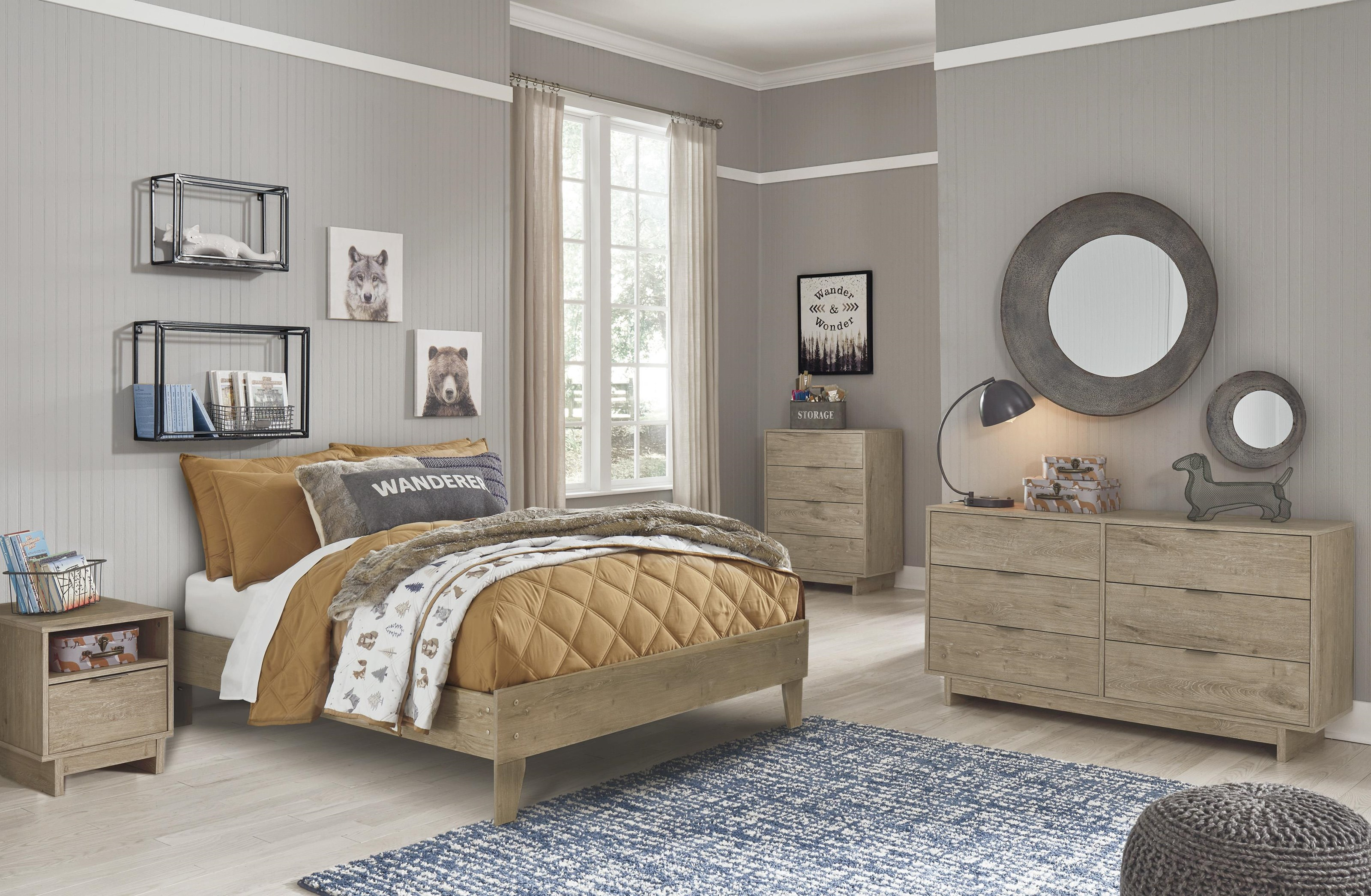 Oliah 3 Piece Queen Bedroom Set by Signature Design by Ashley at Sam Levitz Outlet