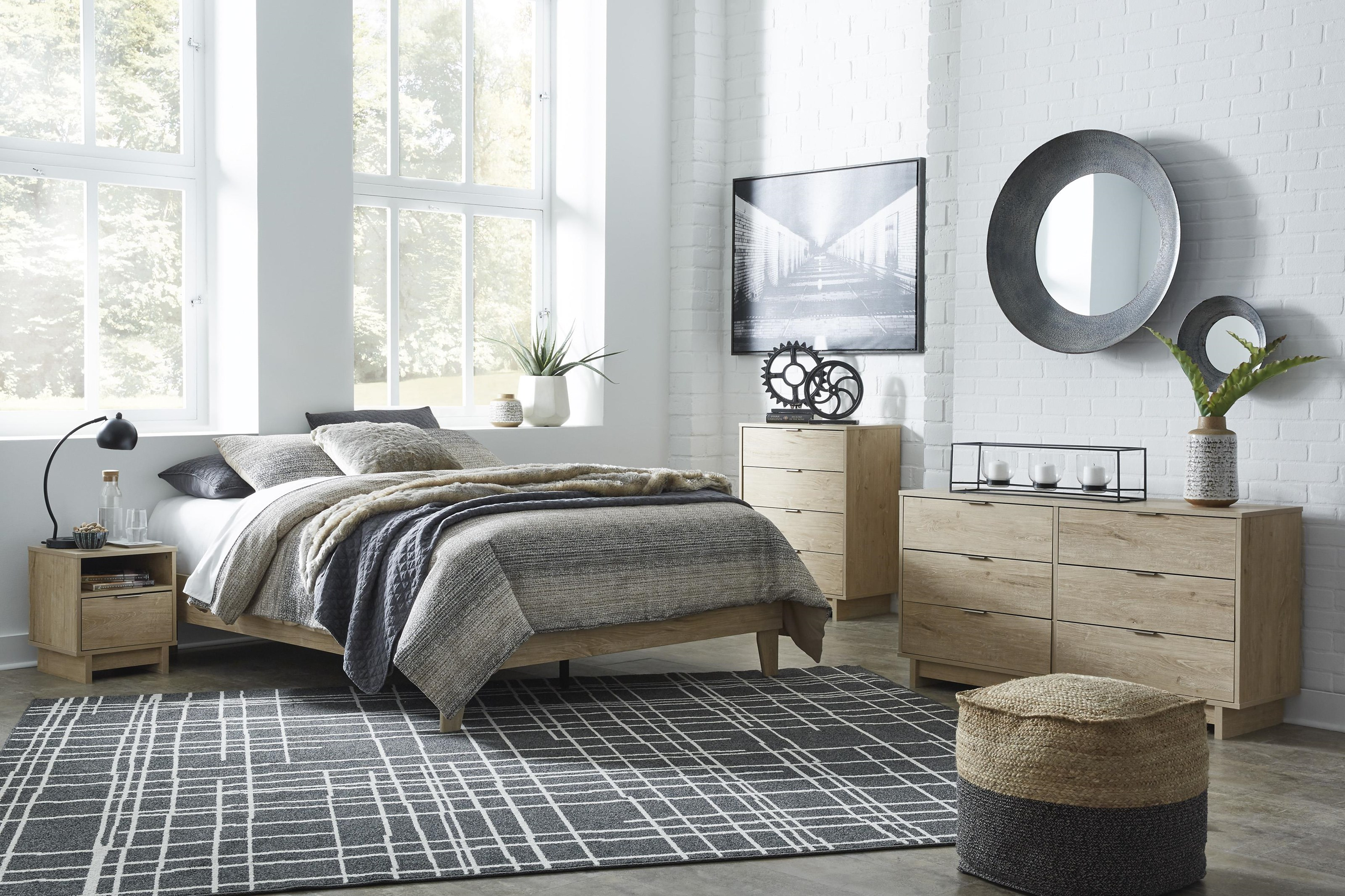 Oliah 3 Piece Queen Bedroom Set by Signature Design by Ashley at Sam Levitz Furniture