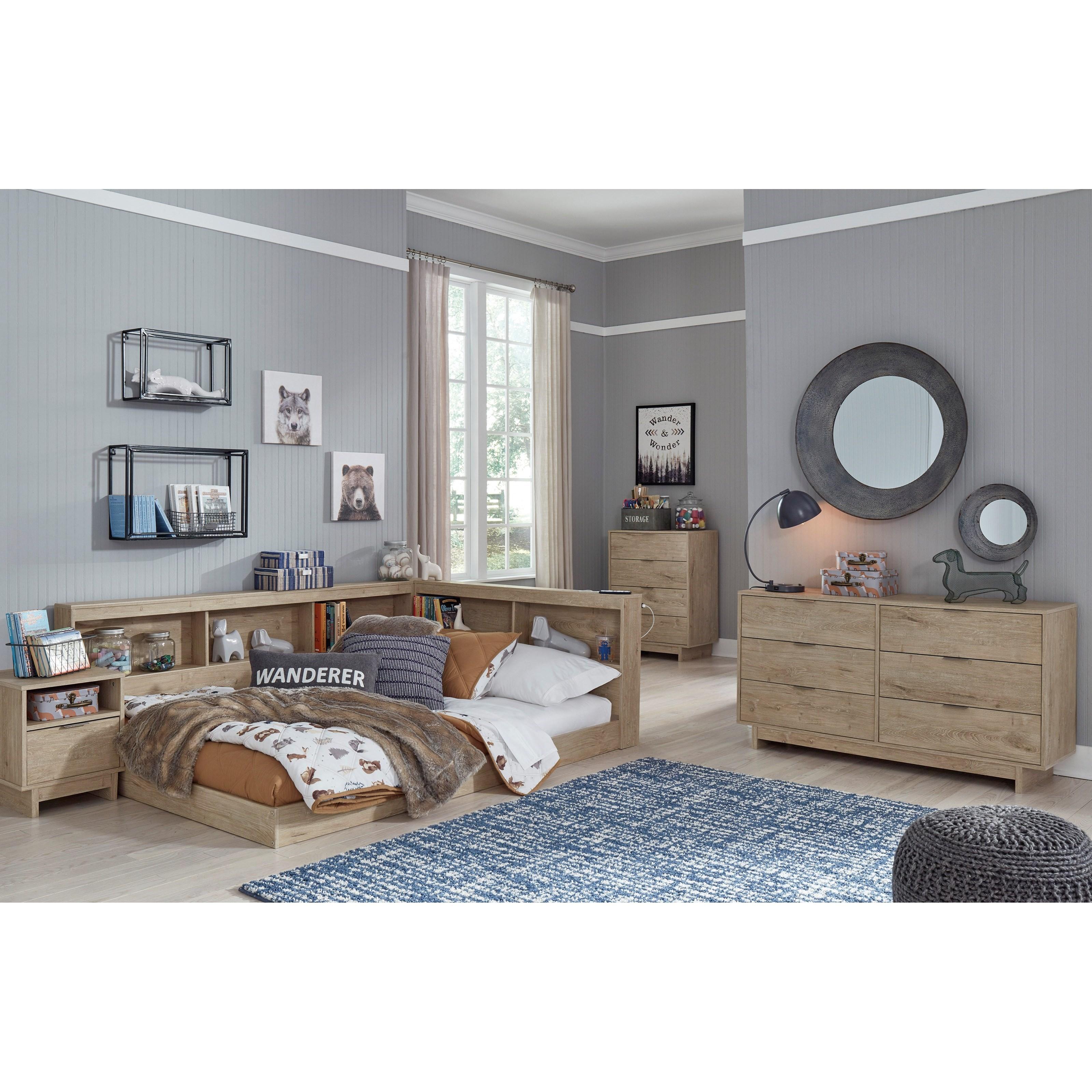 Oliah Full Bedroom Group by Ashley (Signature Design) at Johnny Janosik