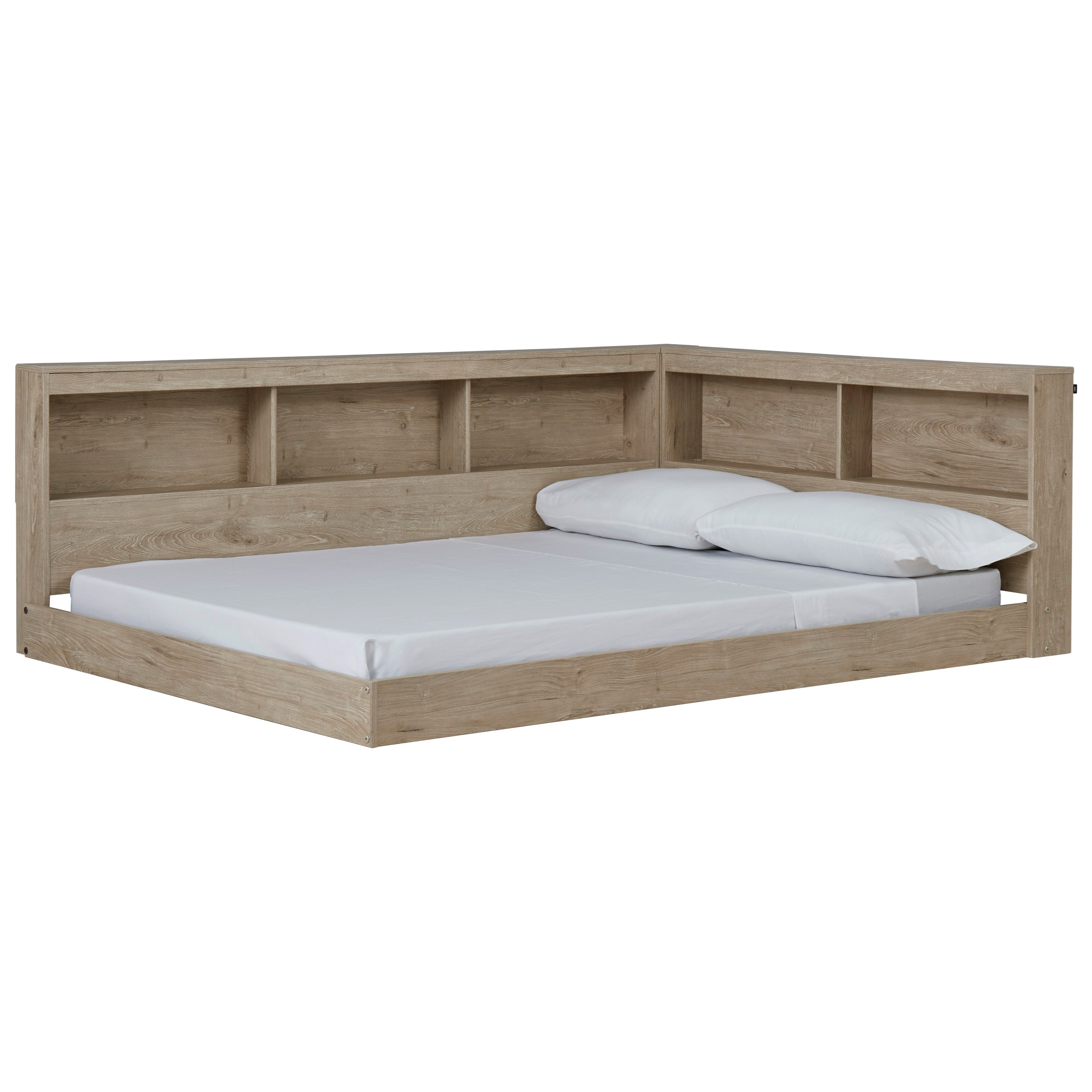 Oliah Full Bookcase Bed by Signature Design by Ashley at Smart Buy Furniture
