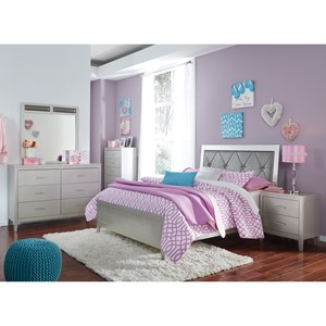 Glam Full Bedroom Group
