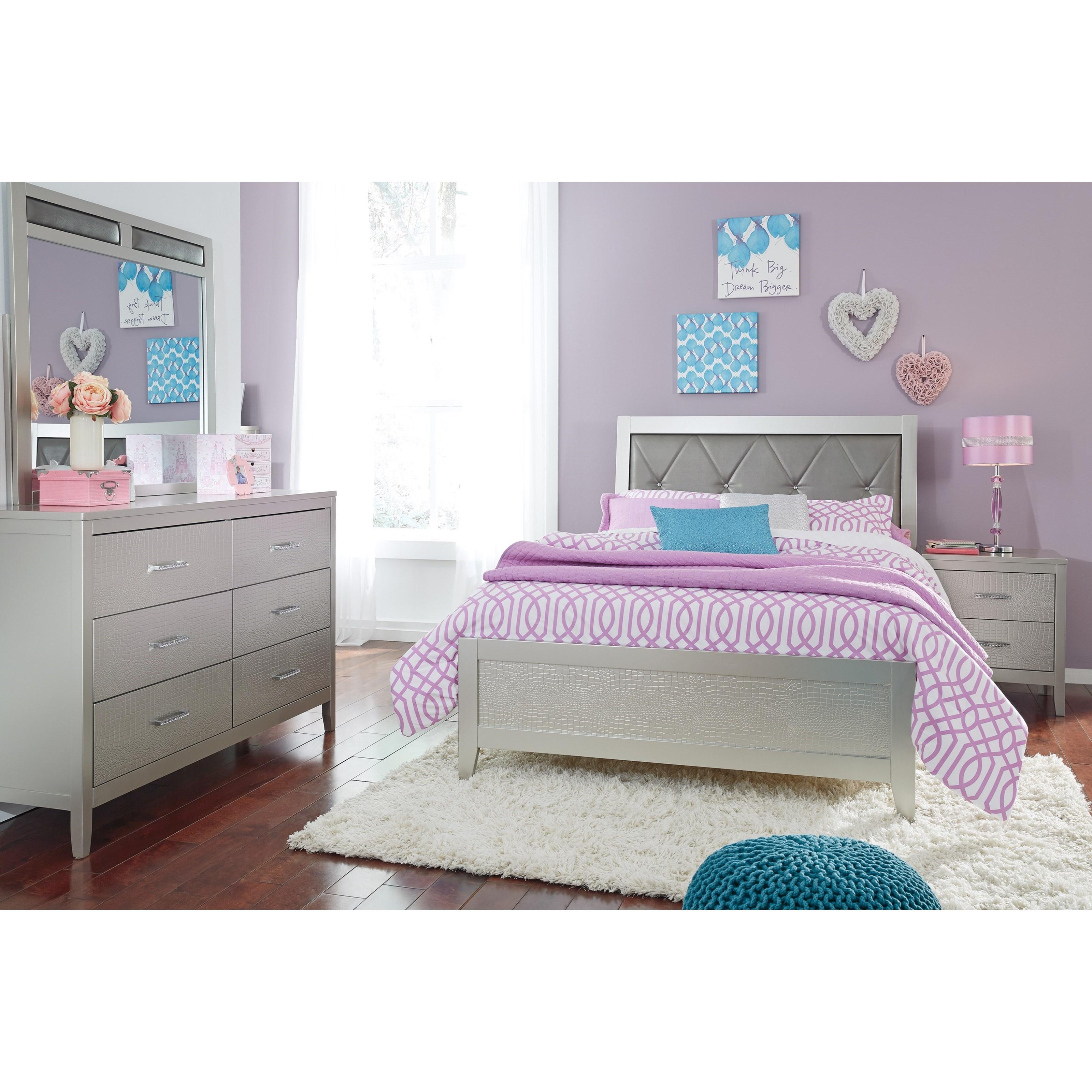 Olivet King Bedroom Group by Signature Design by Ashley at Sam Levitz Furniture