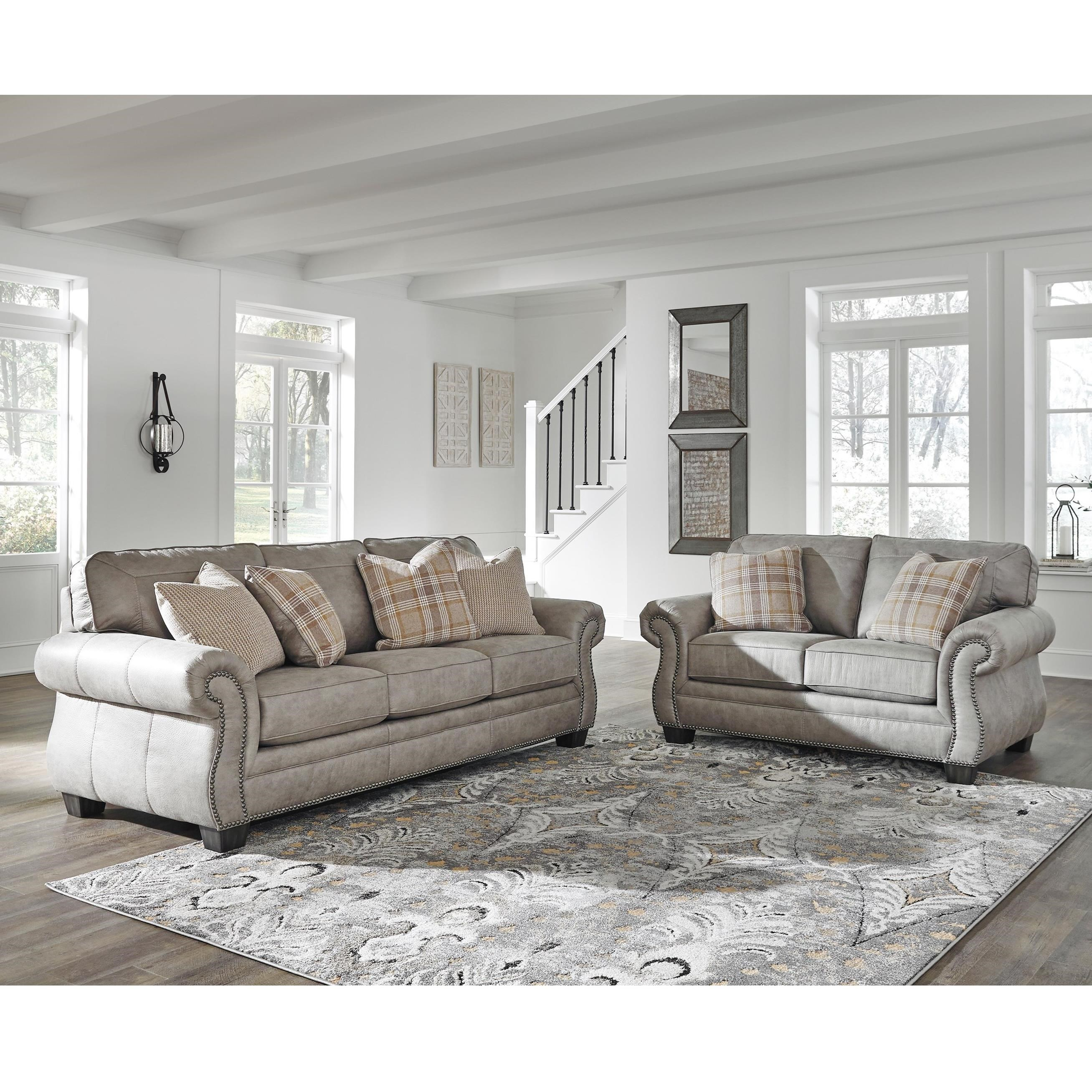 Olsberg Stationary Living Room Group by Signature Design by Ashley at Smart Buy Furniture