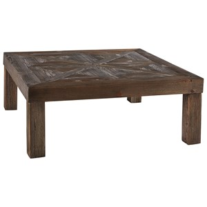 Rustic Square Cocktail Table