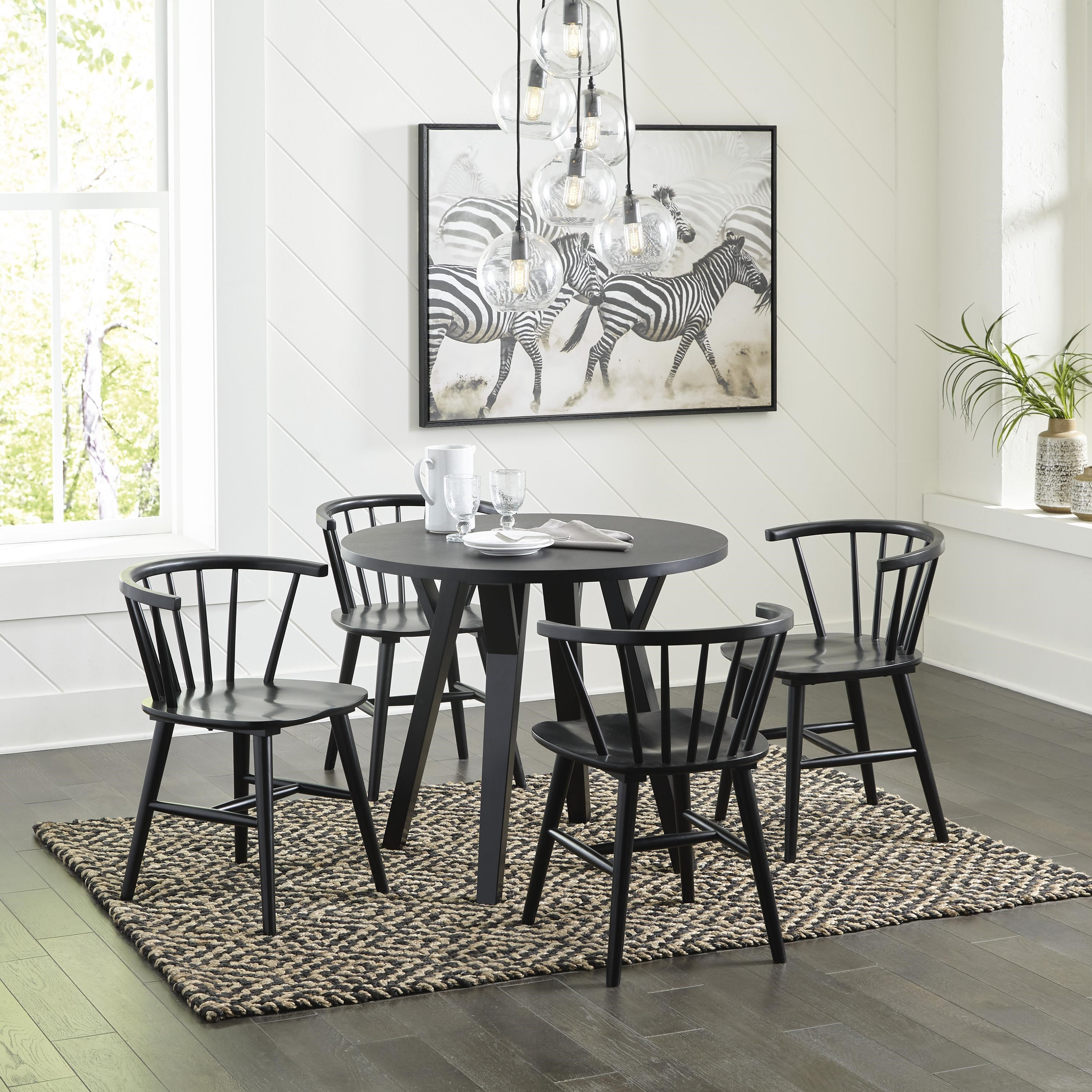 Otaska 5 Piece Dining Room Set by Signature Design by Ashley at Sam Levitz Outlet