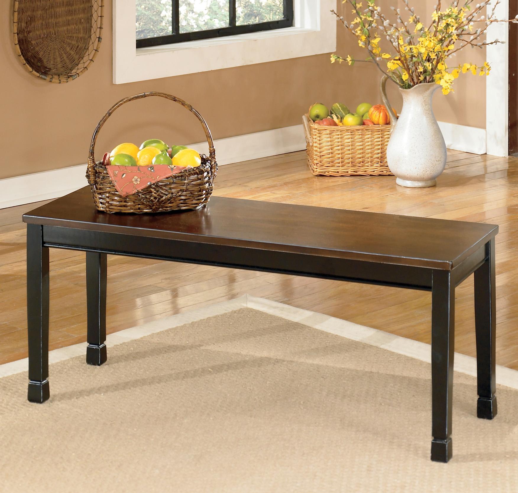 Owingsville Large Dining Room Bench by StyleLine at EFO Furniture Outlet