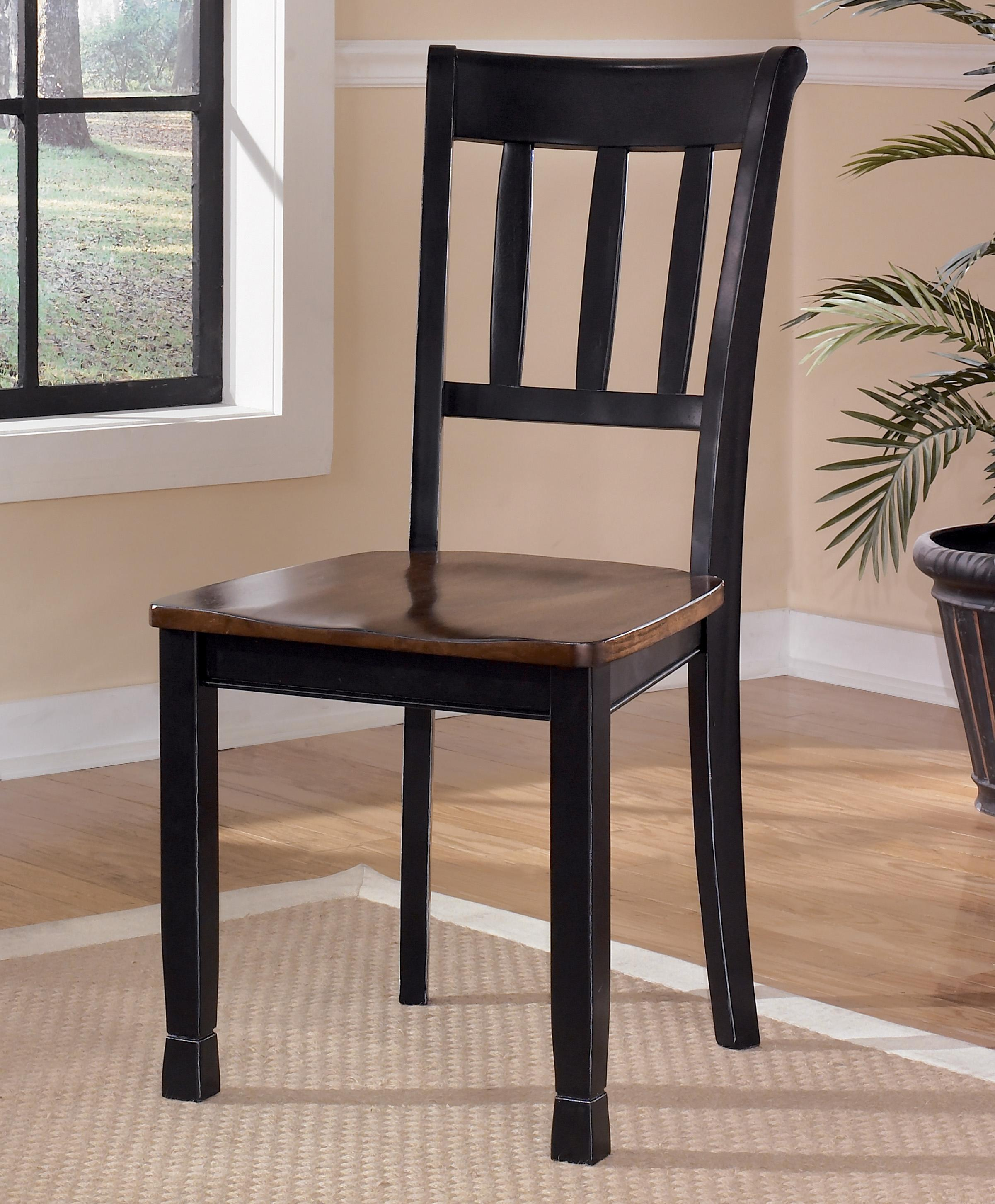 Owingsville Dining Room Side Chair by Ashley (Signature Design) at Johnny Janosik
