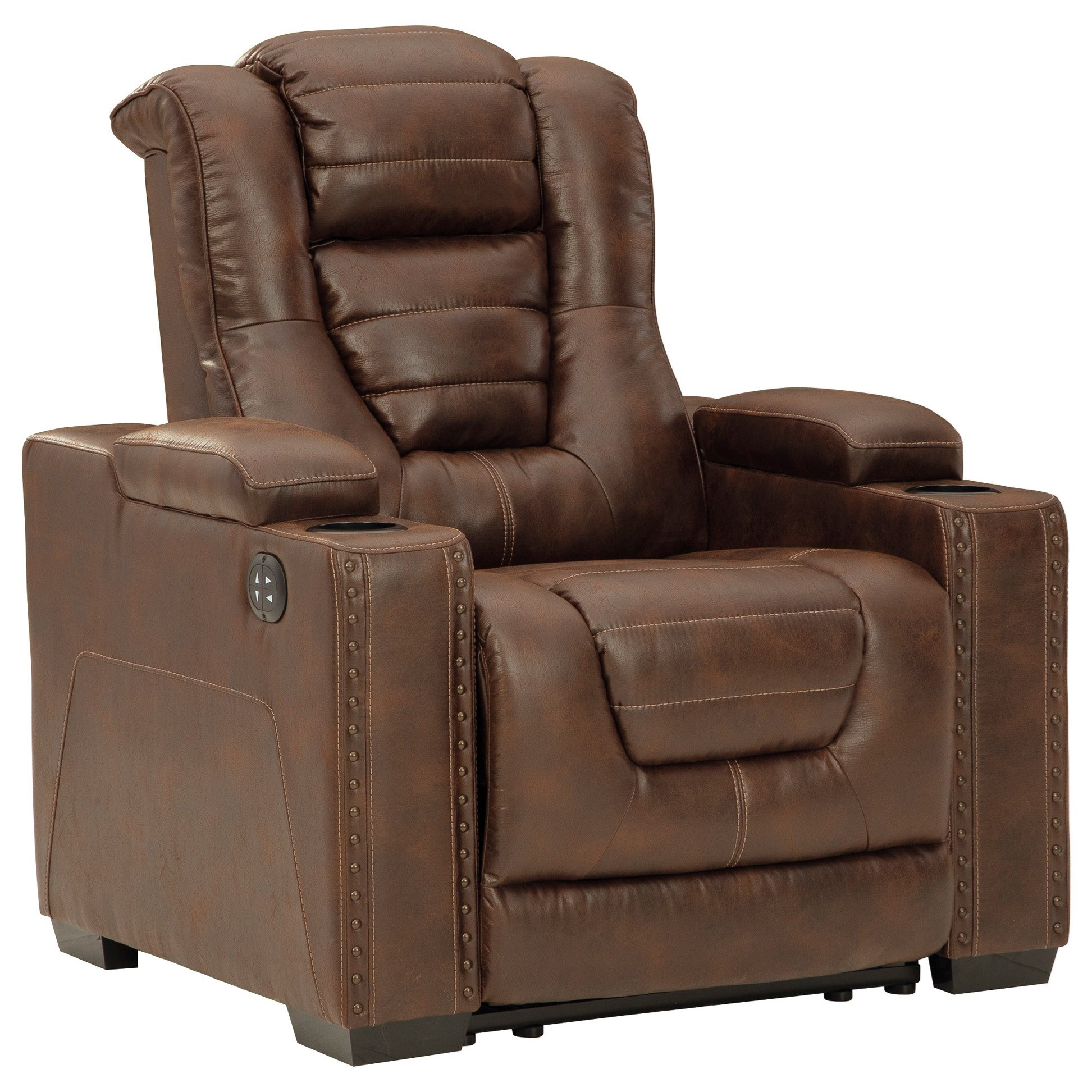 Owner's Box Power Recliner with Adjustable Headrest by Signature Design by Ashley at Value City Furniture