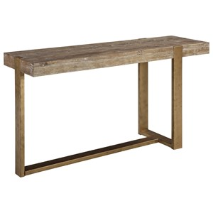 Modern Rustic Rectangular Sofa Table