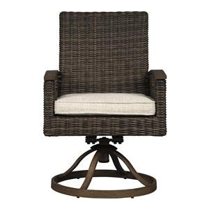 Swivel Rocker Chair with Cushion