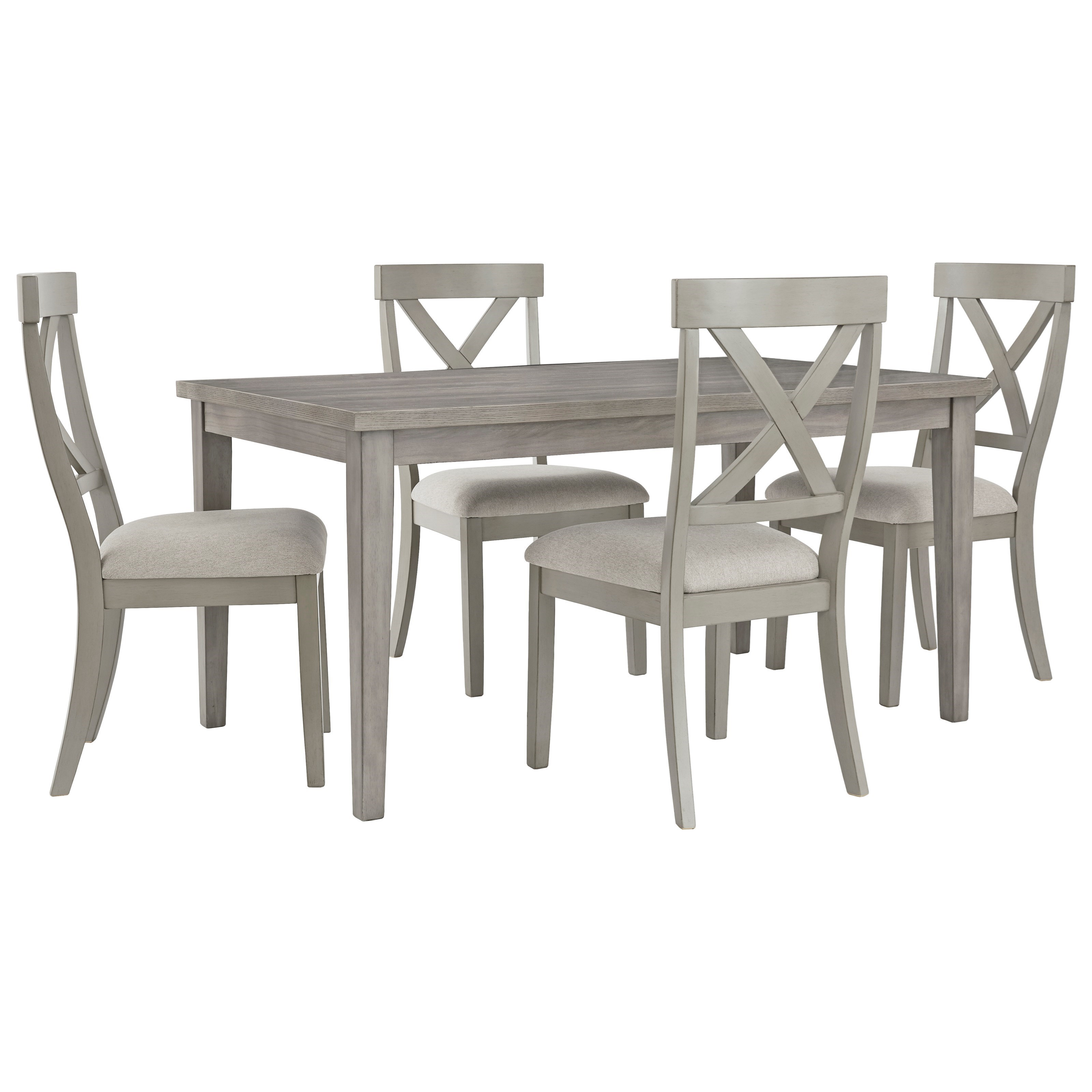 Parellen 5-Piece Table and Chair Set by Signature Design by Ashley at Zak's Warehouse Clearance Center