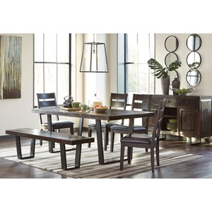 Signature Design by Ashley Parlone Casual Dining Room Group